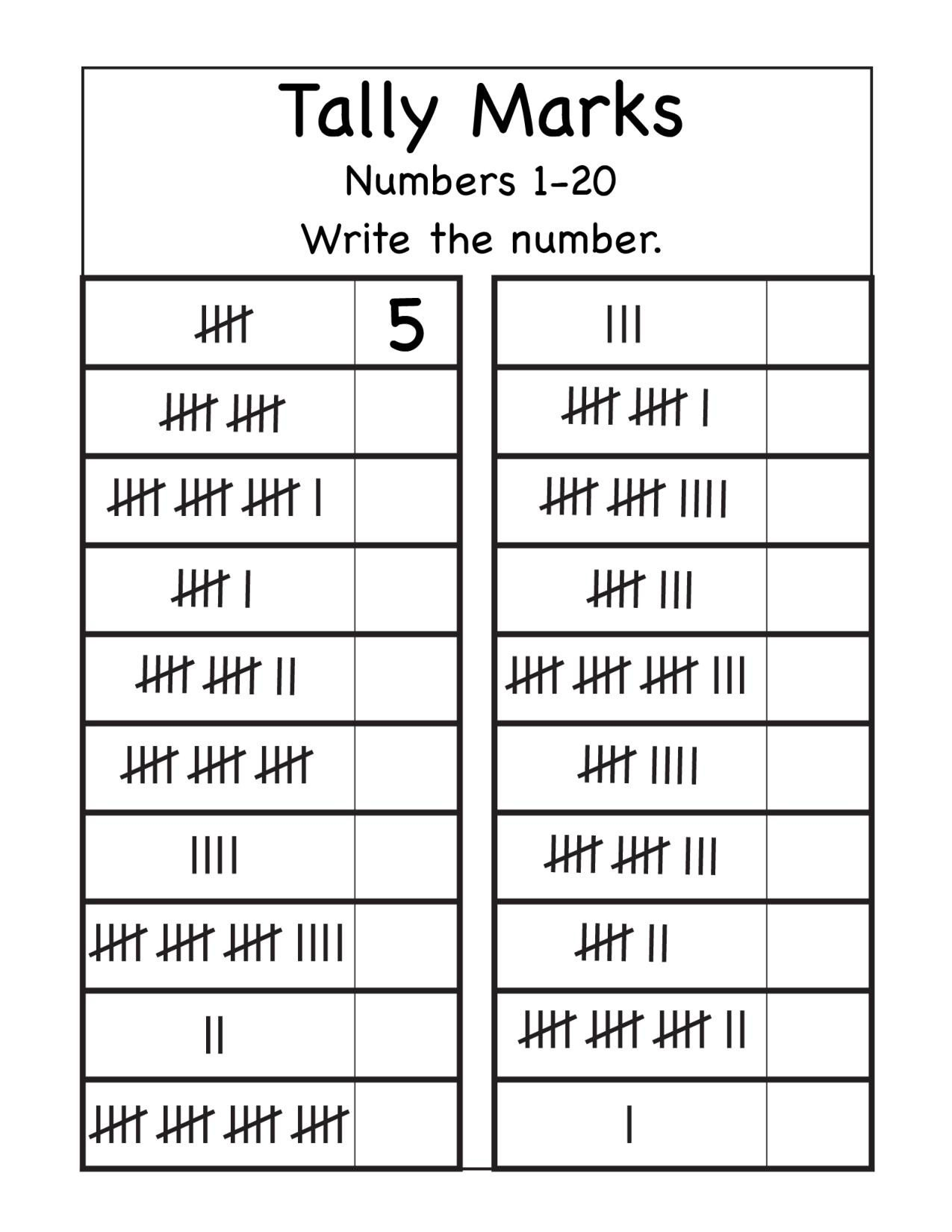 wfun15 tally marks number 1 page 001