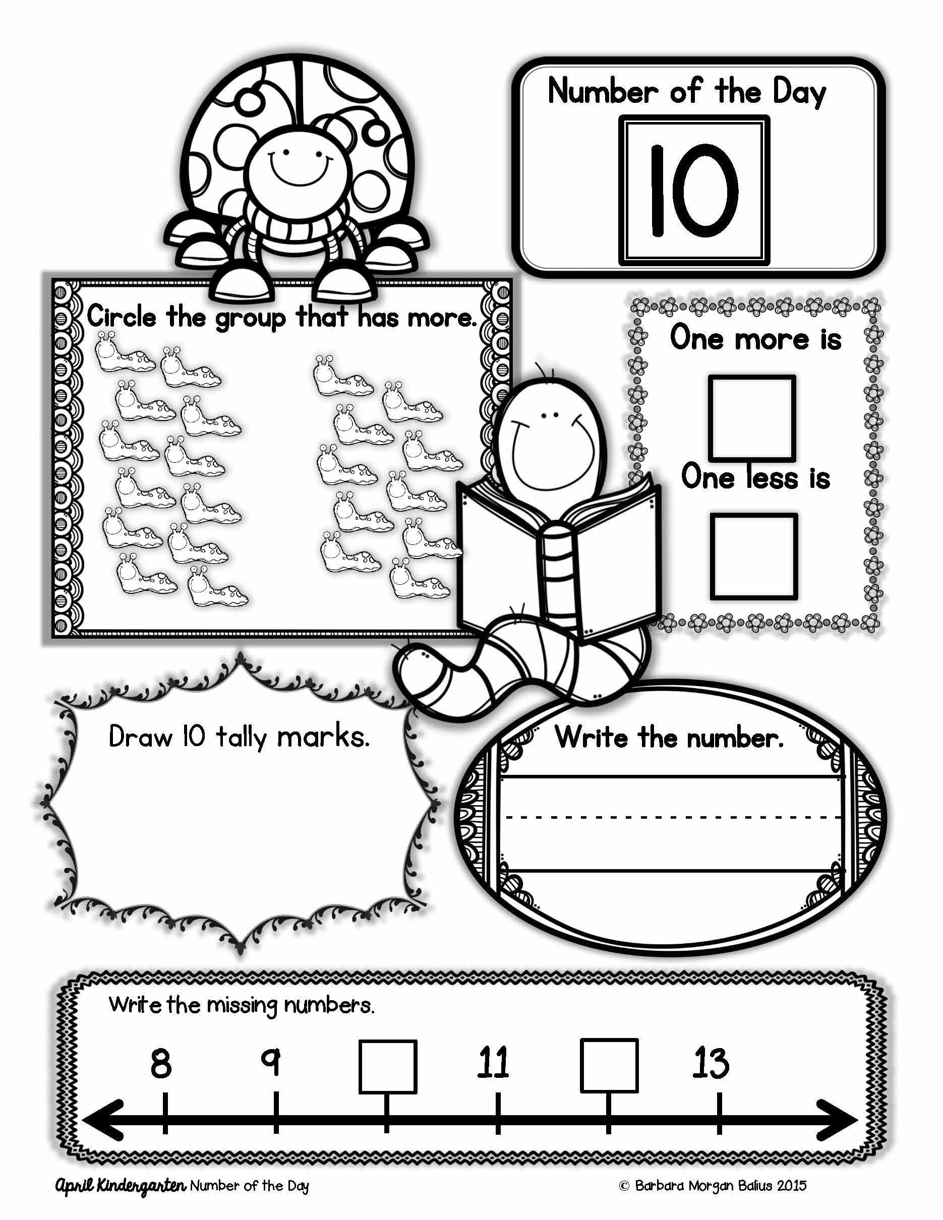 kindergarten math number of the sense morning work tally marks worksheets grid graph maker for feedback on kumon division grade addition pictures to color measurement order