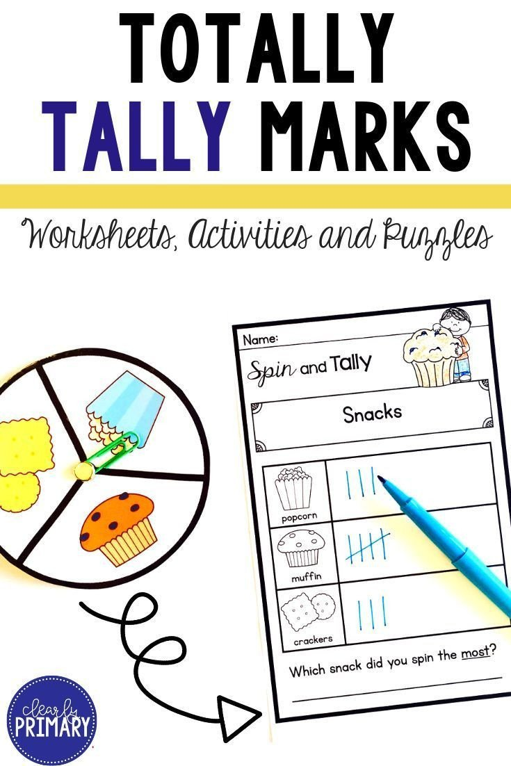 Tally Marks Worksheets for Kindergarten Tally Marks Worksheets Activities & Puzzles