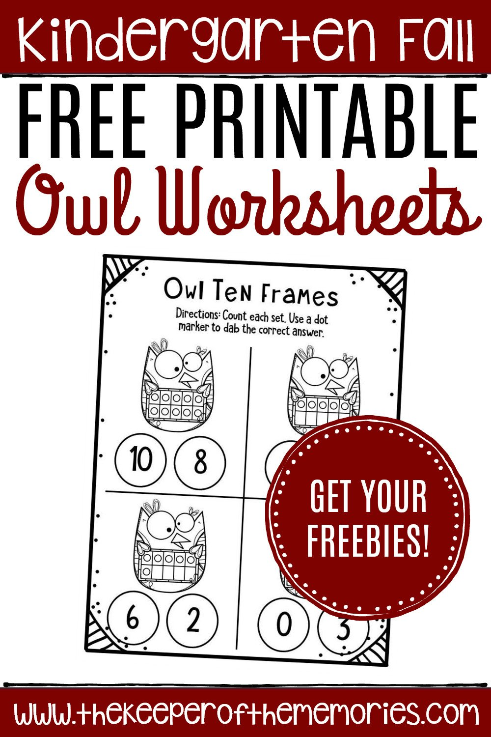 Owl Worksheets