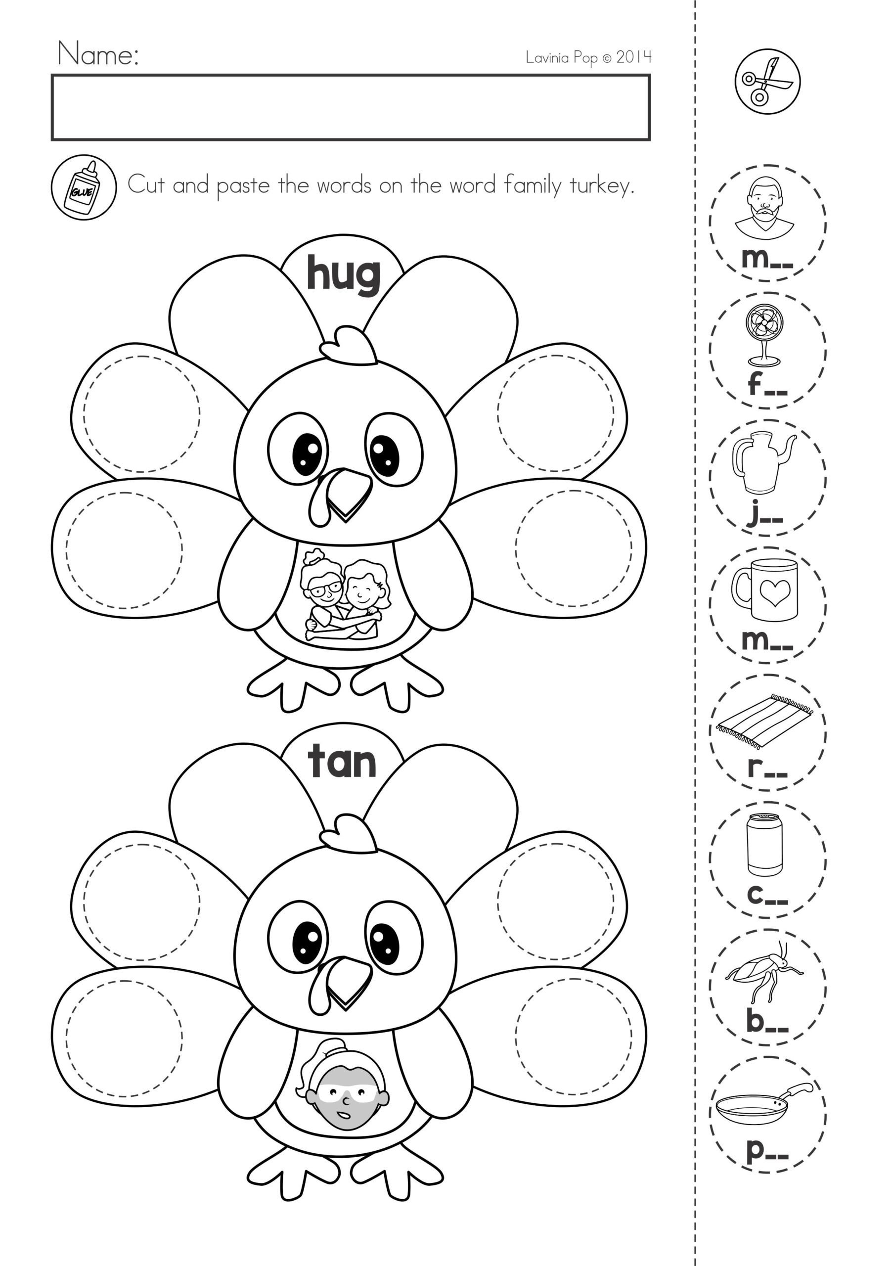 Thanksgiving Math Worksheets Kindergarten Thanksgiving Math Literacy Worksheets and Activities