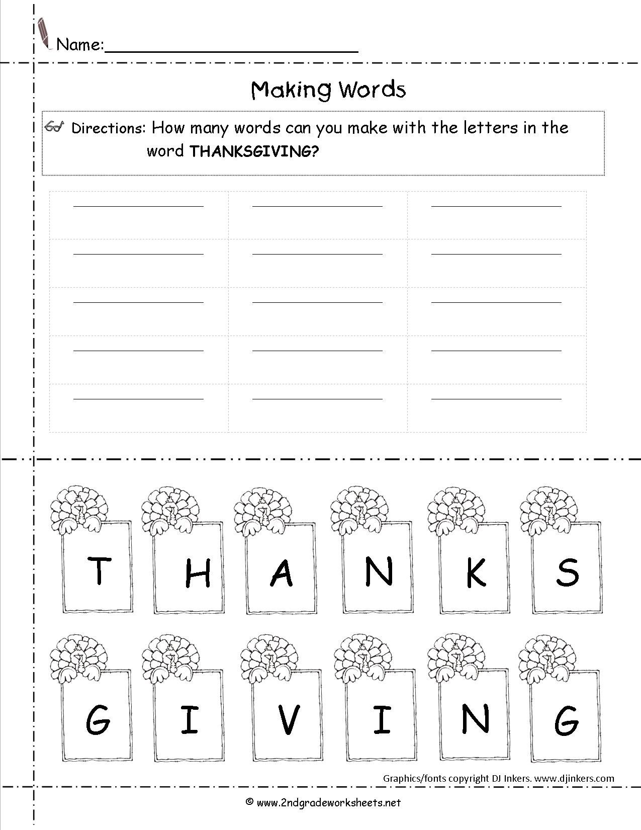 Thanksgiving Math Worksheets Kindergarten Thanksgiving Printouts and Worksheets Third Grade