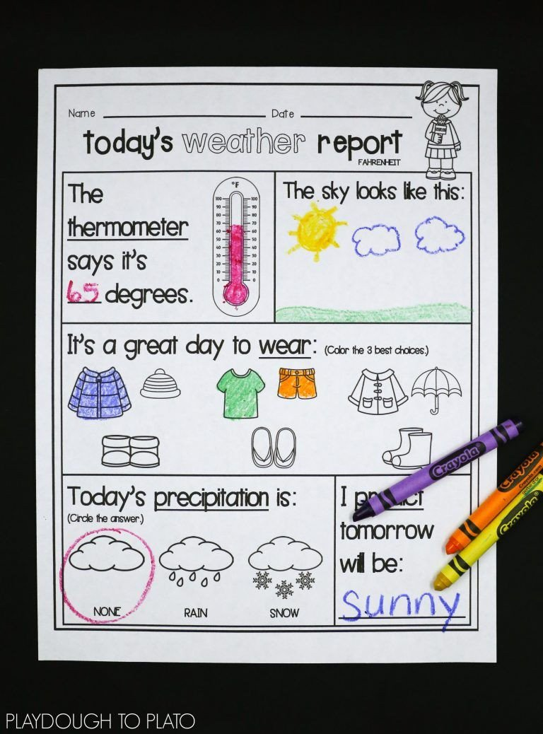 Tornado Worksheets for Kids Weather Activities Kids Love Playdough to Plato