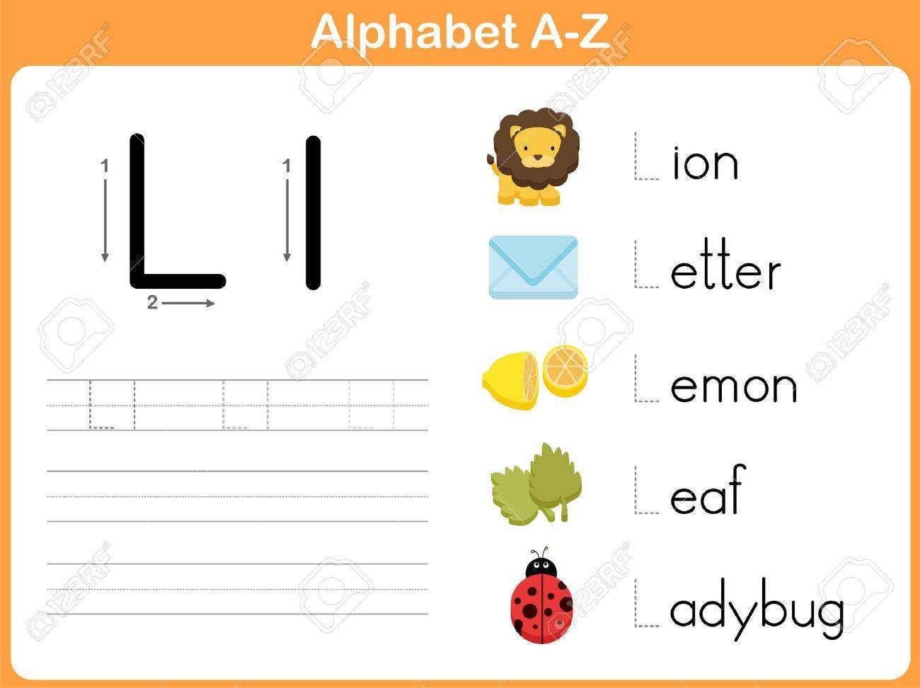 Tracing Letters Worksheet Az Alphabet Tracing Worksheet Writing A Z