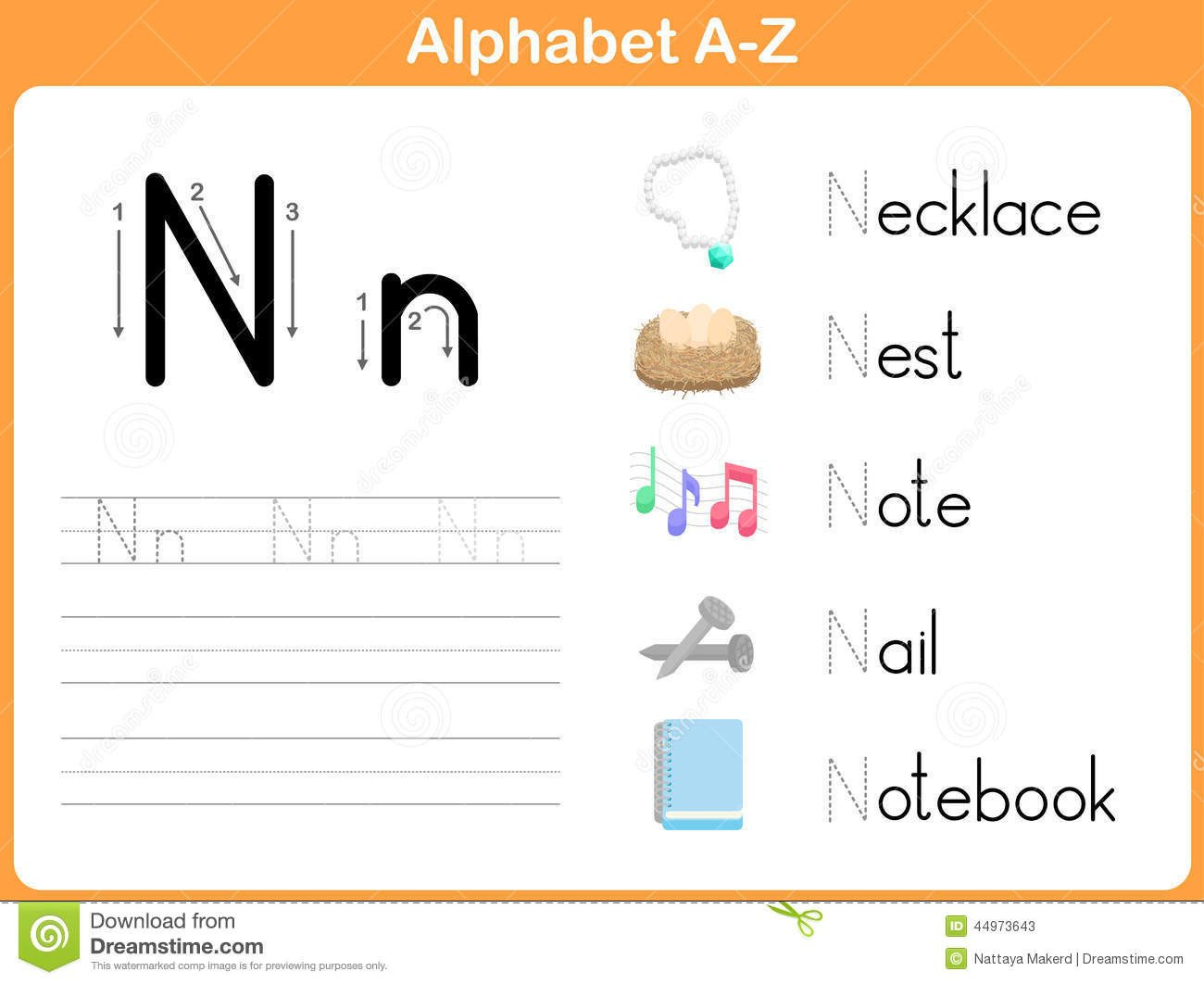 Tracing Letters Worksheet Az Alphabet Tracing Worksheet Writing Stock Vector Worksheets
