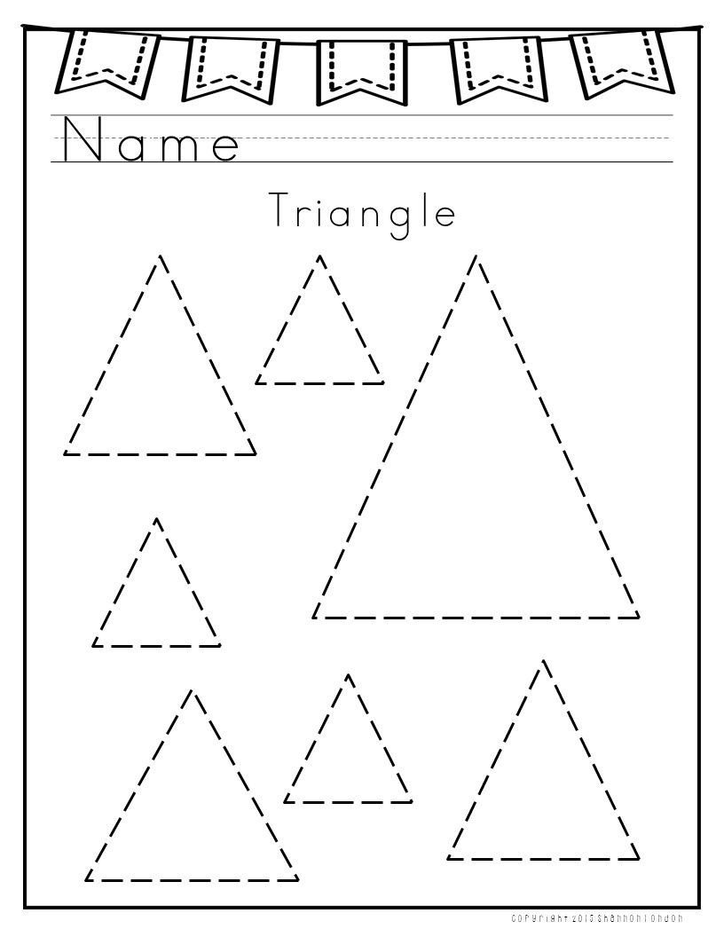 I use these worksheets with my preschoolers to practice