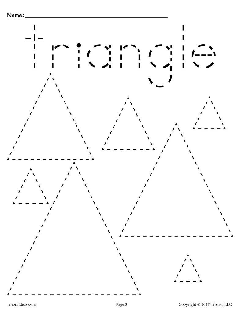 Various 20Shapes 20Tracing 20pages triangle 1024x1024