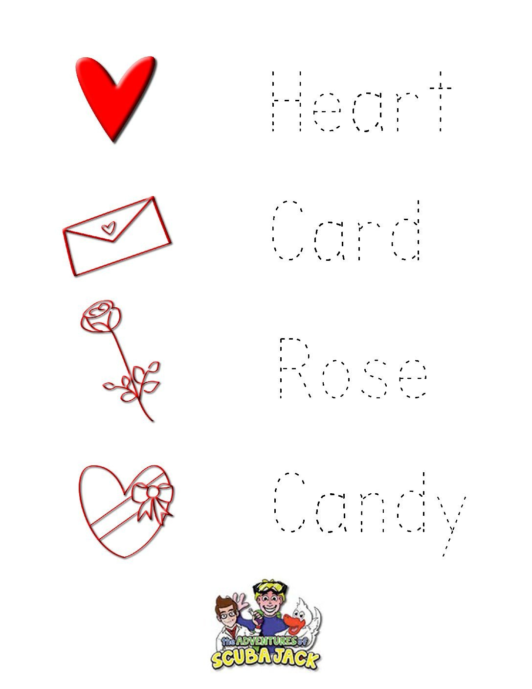 Valentines Day Worksheets for Kindergarten Valentine S Day Activities for Kids
