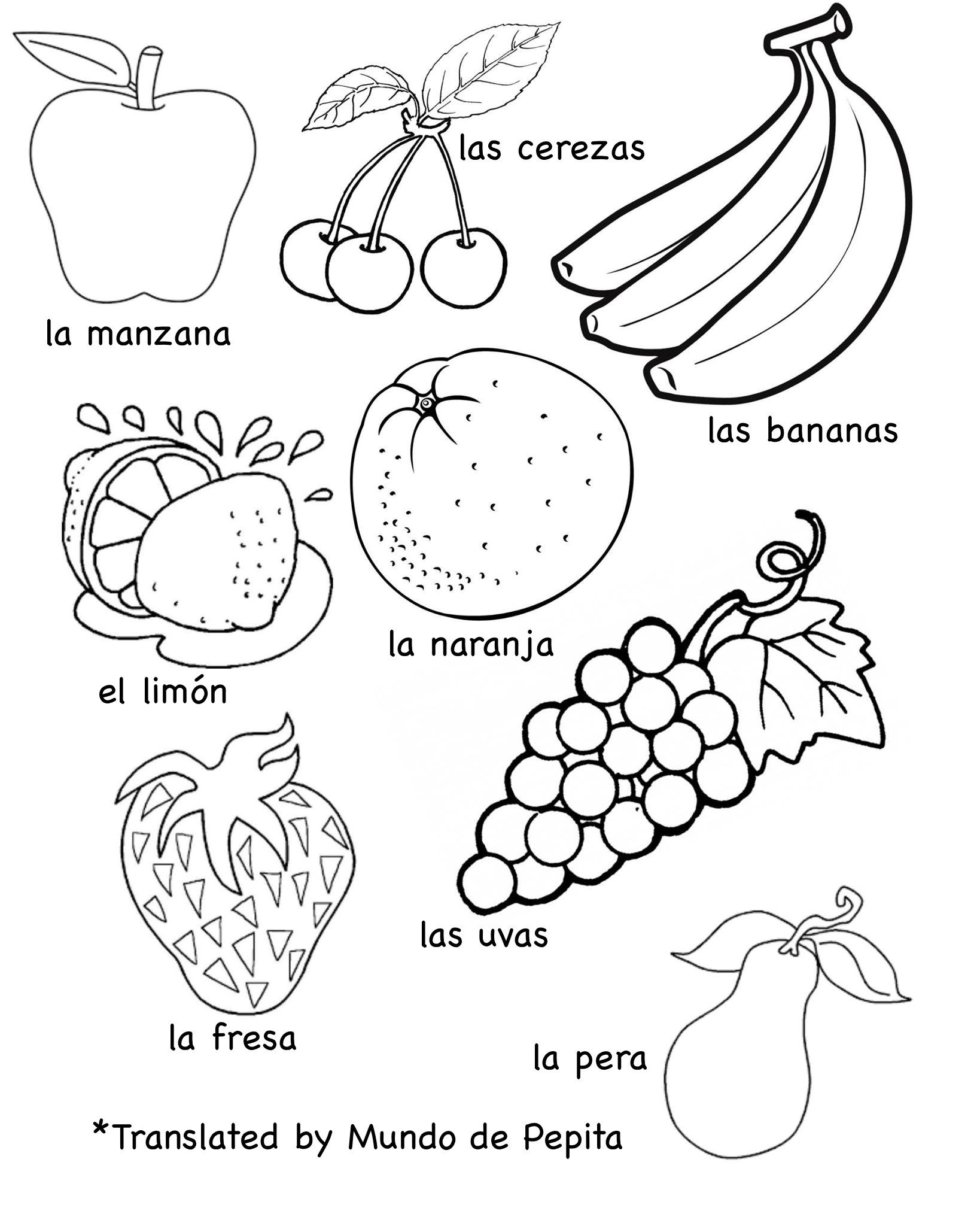 drawing pictures of fruits and ve ables 12
