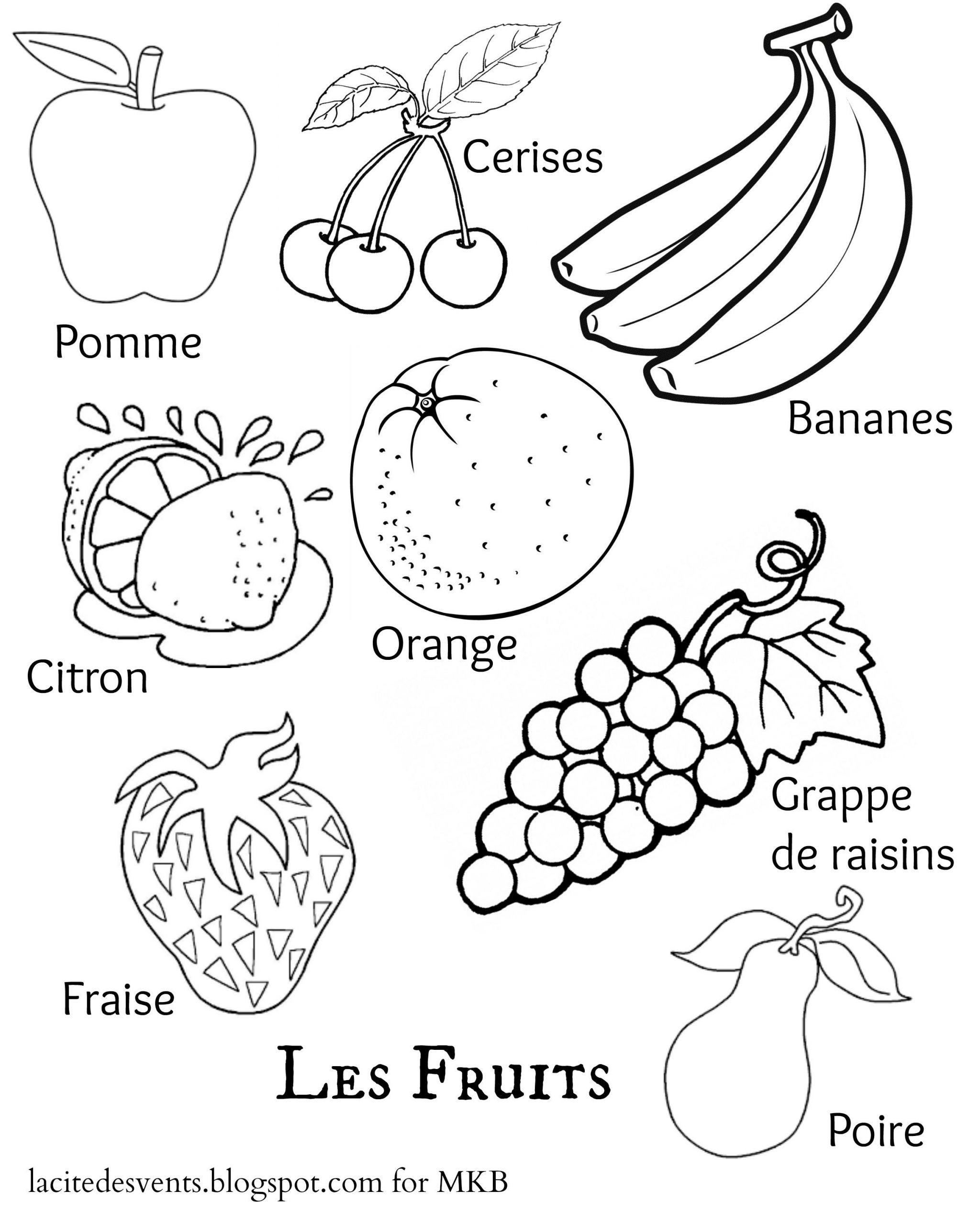multilingual printables fruits and ve ables in 7 languages 2