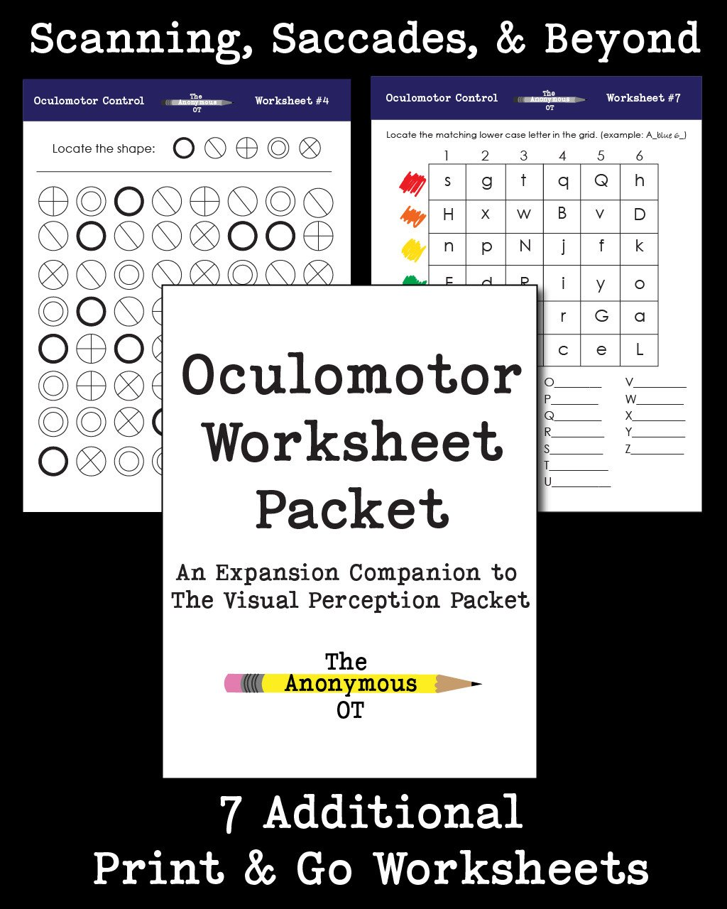 Artboard 1Oculomotor Packet Preview