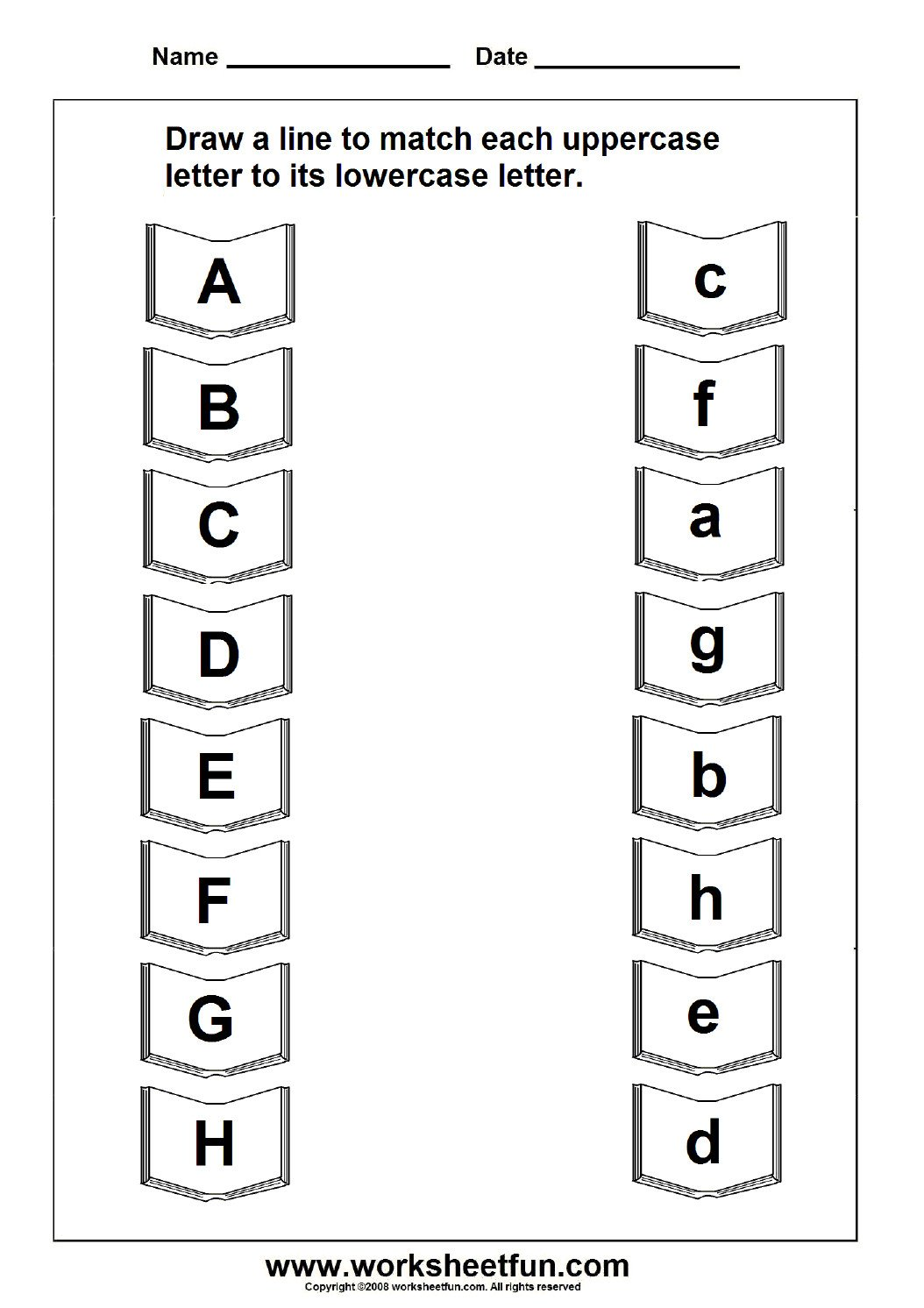 uppercase lowercase letter education letter worksheets free free printable upper and lowercase letters worksheets