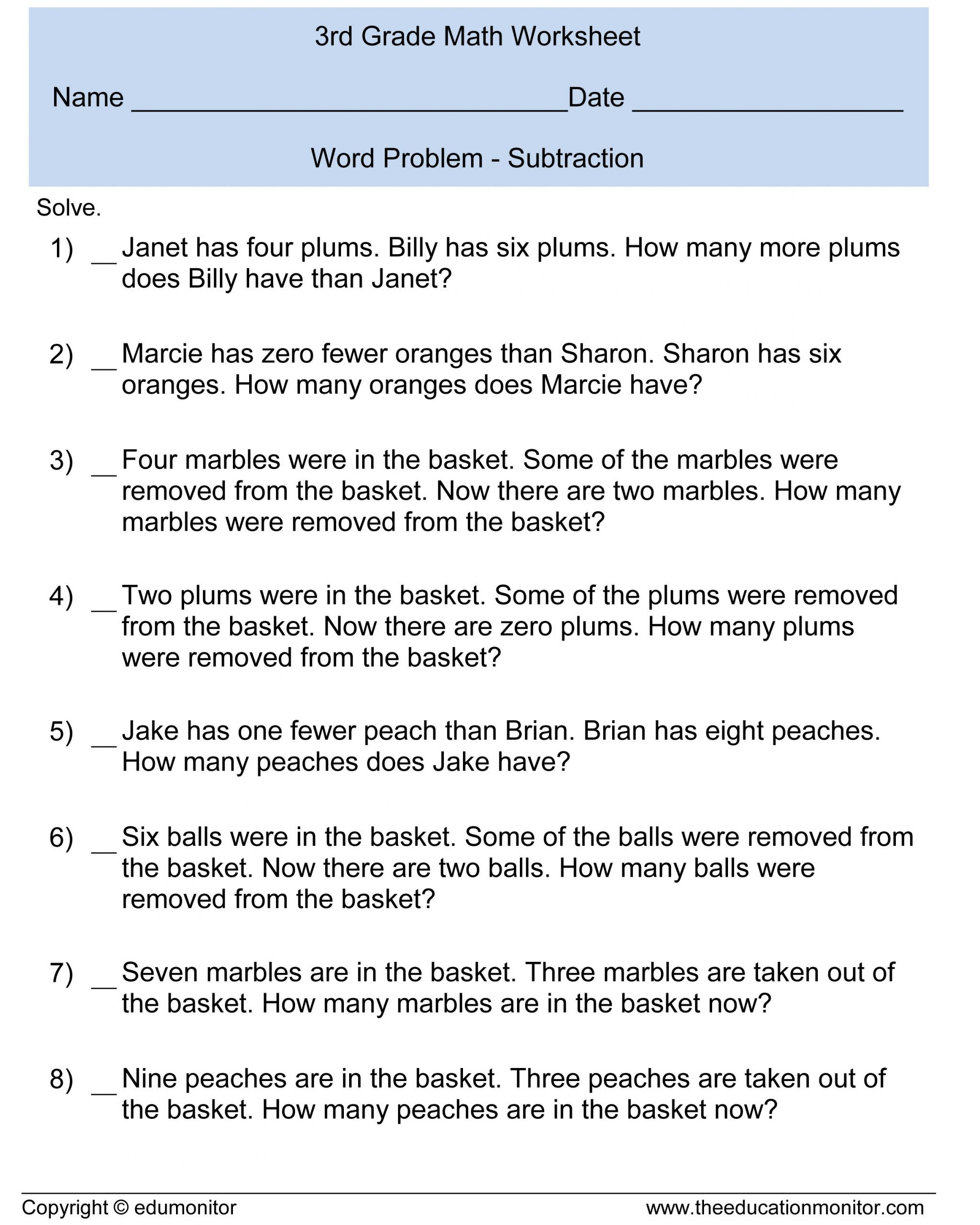 Word Problems Worksheets for Kindergarten Kindergarten Word Problems Worksheets Worksheets for Kids