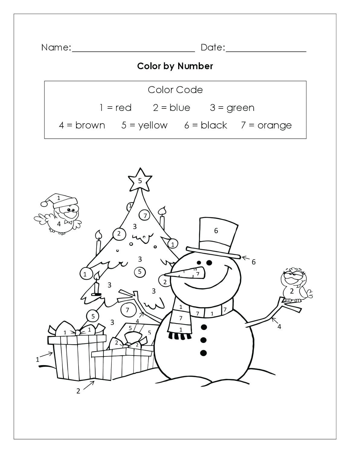Yellow Worksheets for Preschool Worksheet Christmas Math Ks2 toddler Preschool Activities