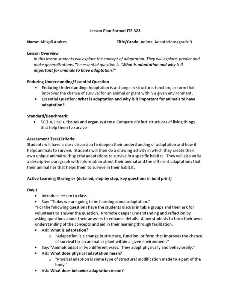 Animal Adaptations Worksheets Pdf Animal Adaptations Adaptation