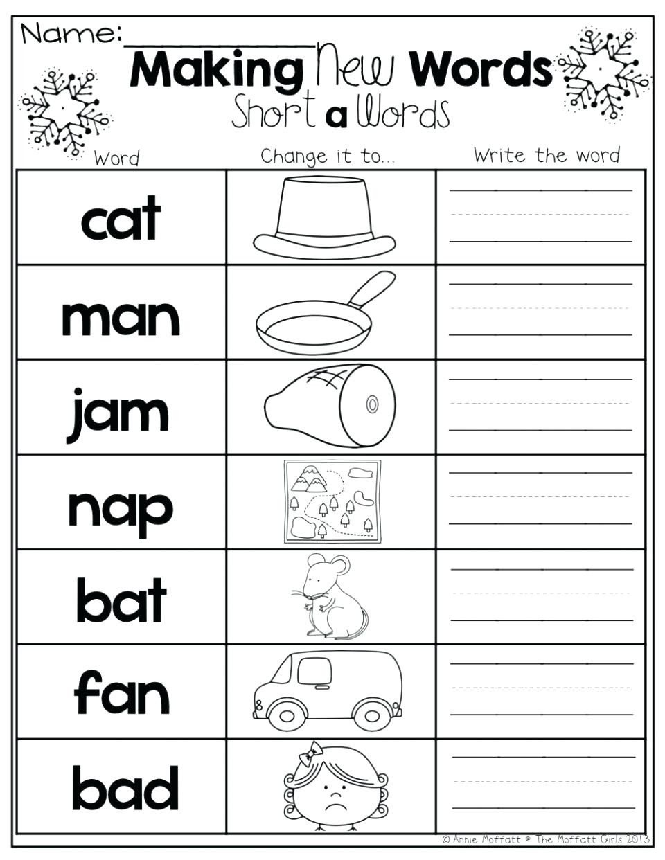 Blending sounds Worksheets for Kindergarten Math Worksheet 61 Incredible Kindergarten Phonics