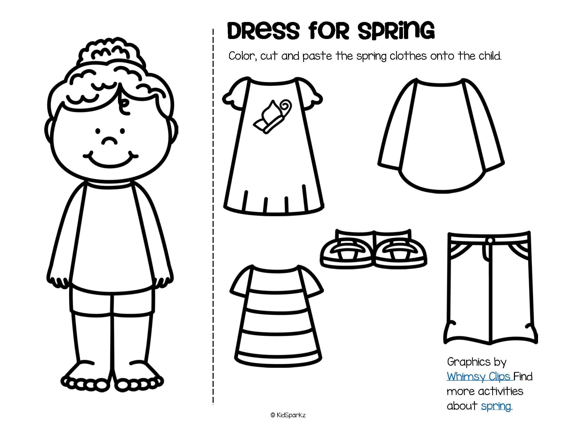 Calendar Worksheet for Kindergarten Clothes Worksheets for Preschool Worksheet Free Calendar