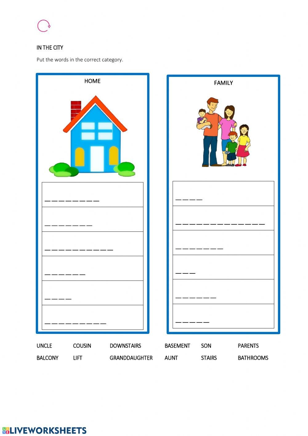 House and family categories kids a1 mb ez