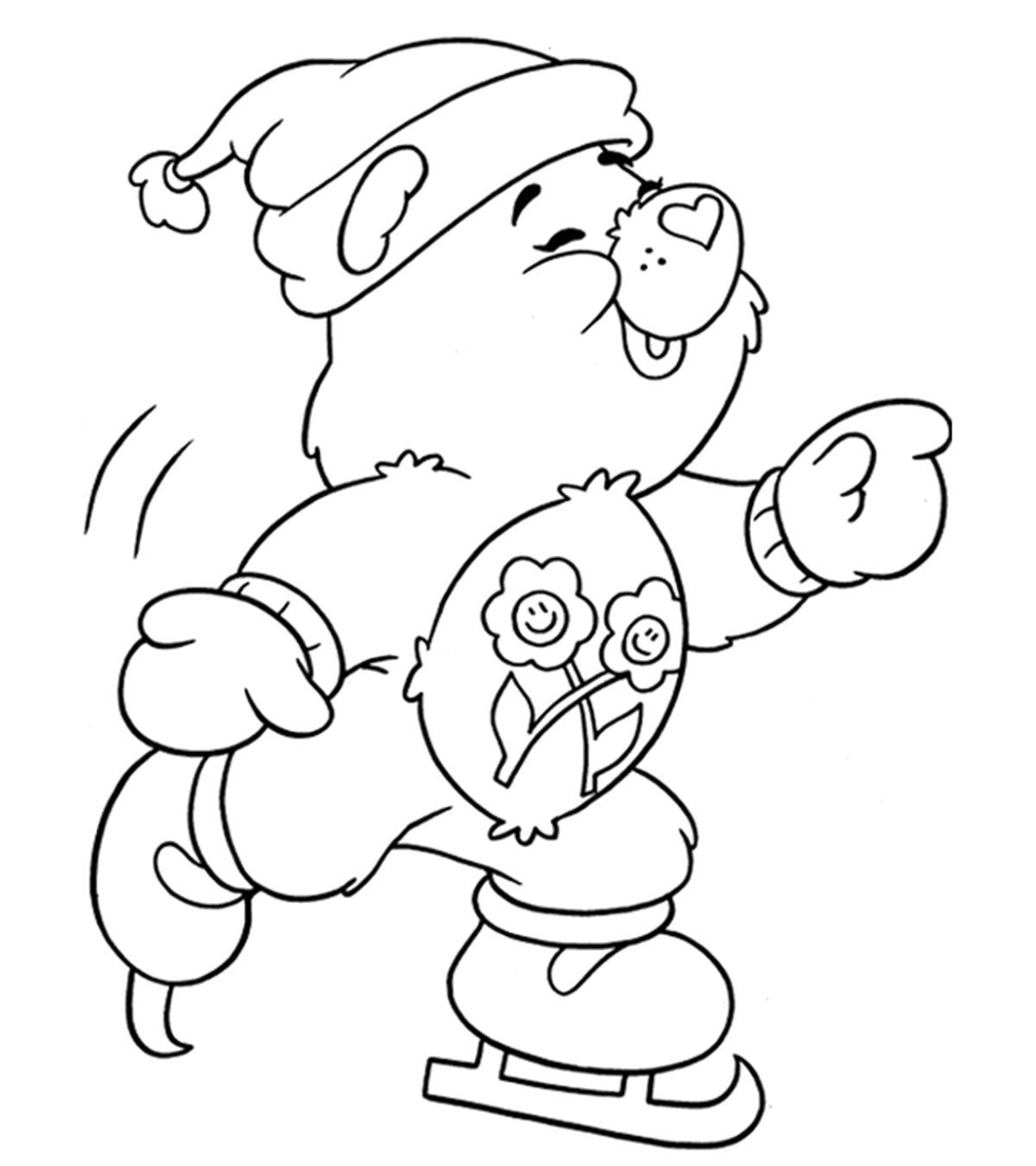 top free printable winter coloring for your little ones1 whole numbers and fractions