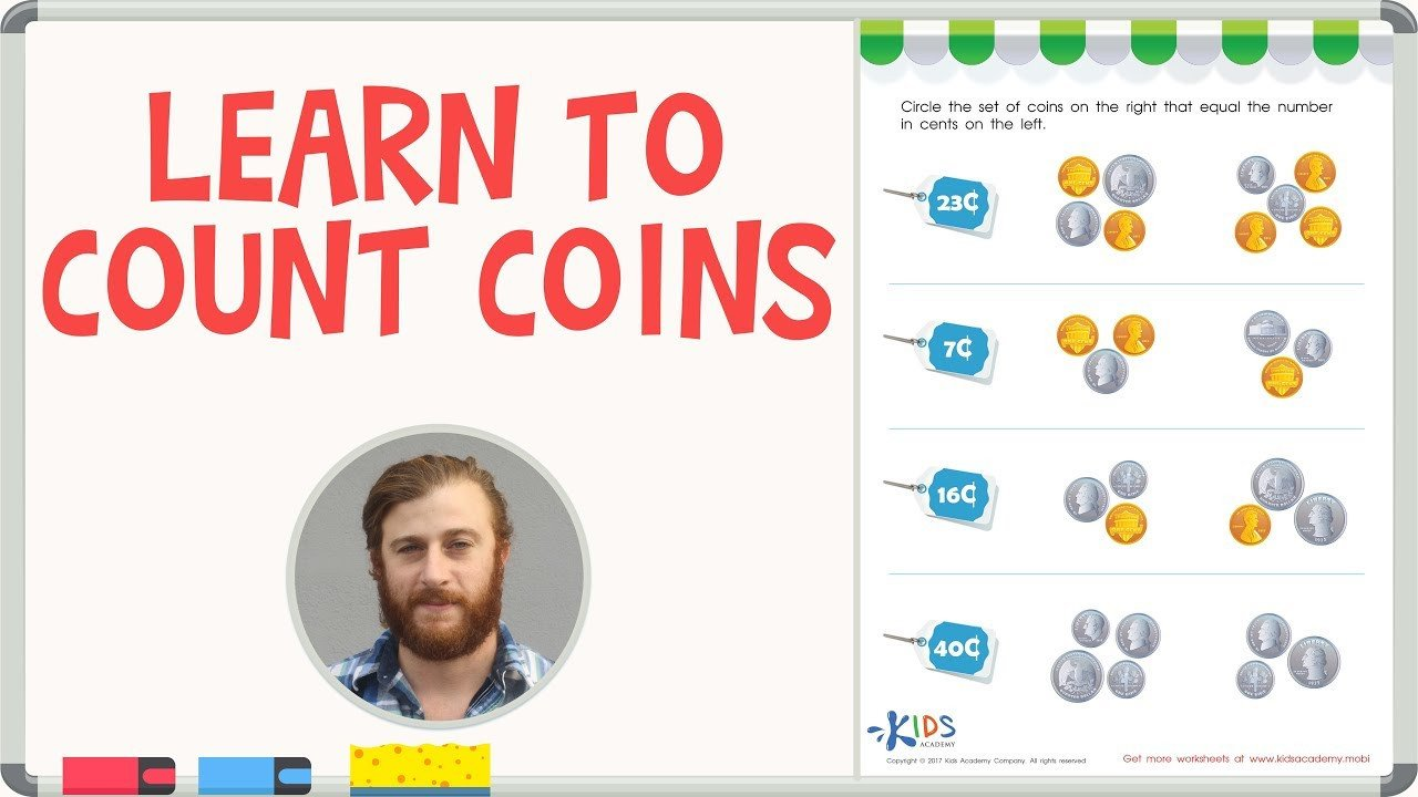 Coins Worksheets for Kindergarten How to Count Coins Counting Coins Worksheets