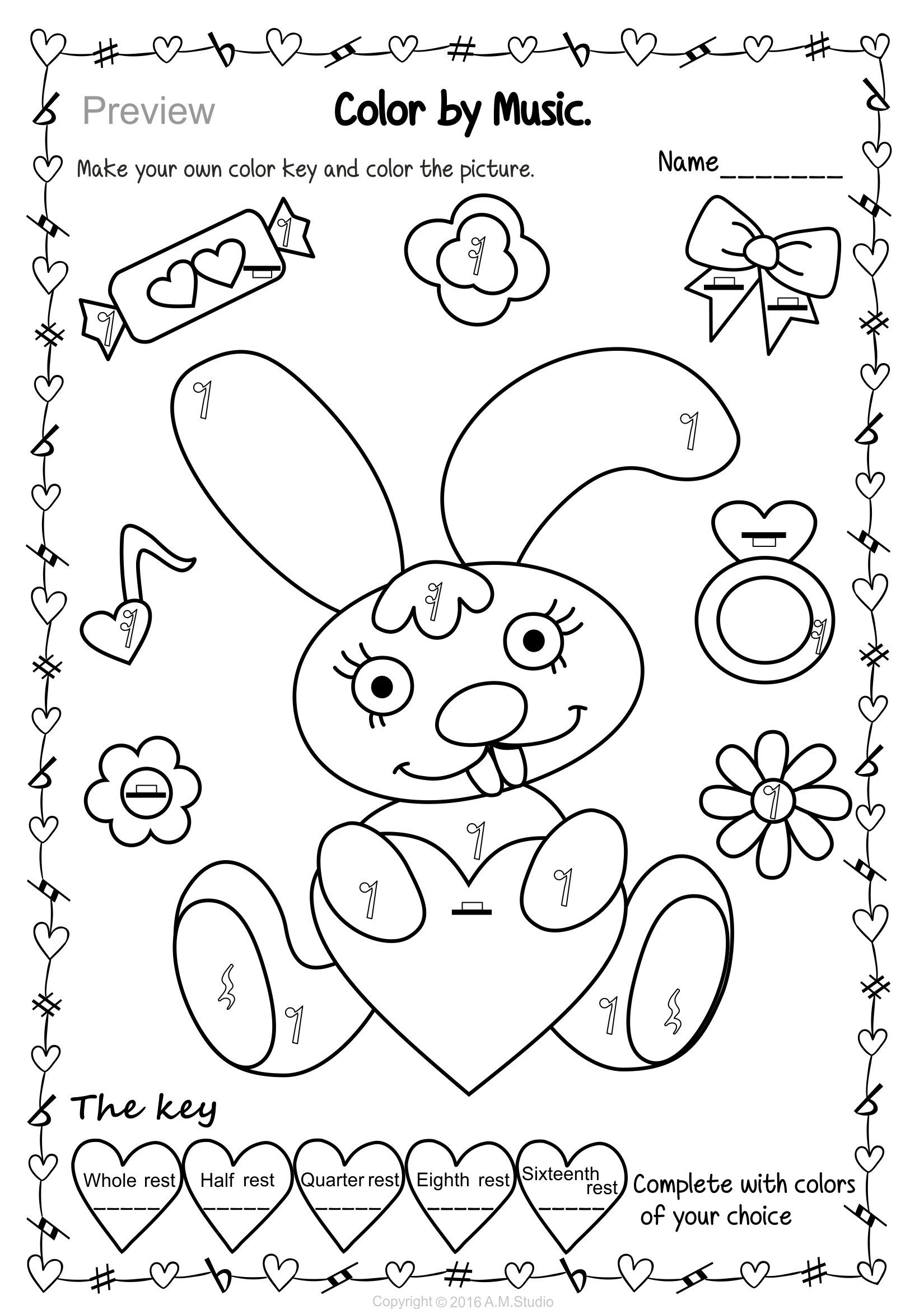 coloring sheet music pages pdf free notes for adults printable kids
