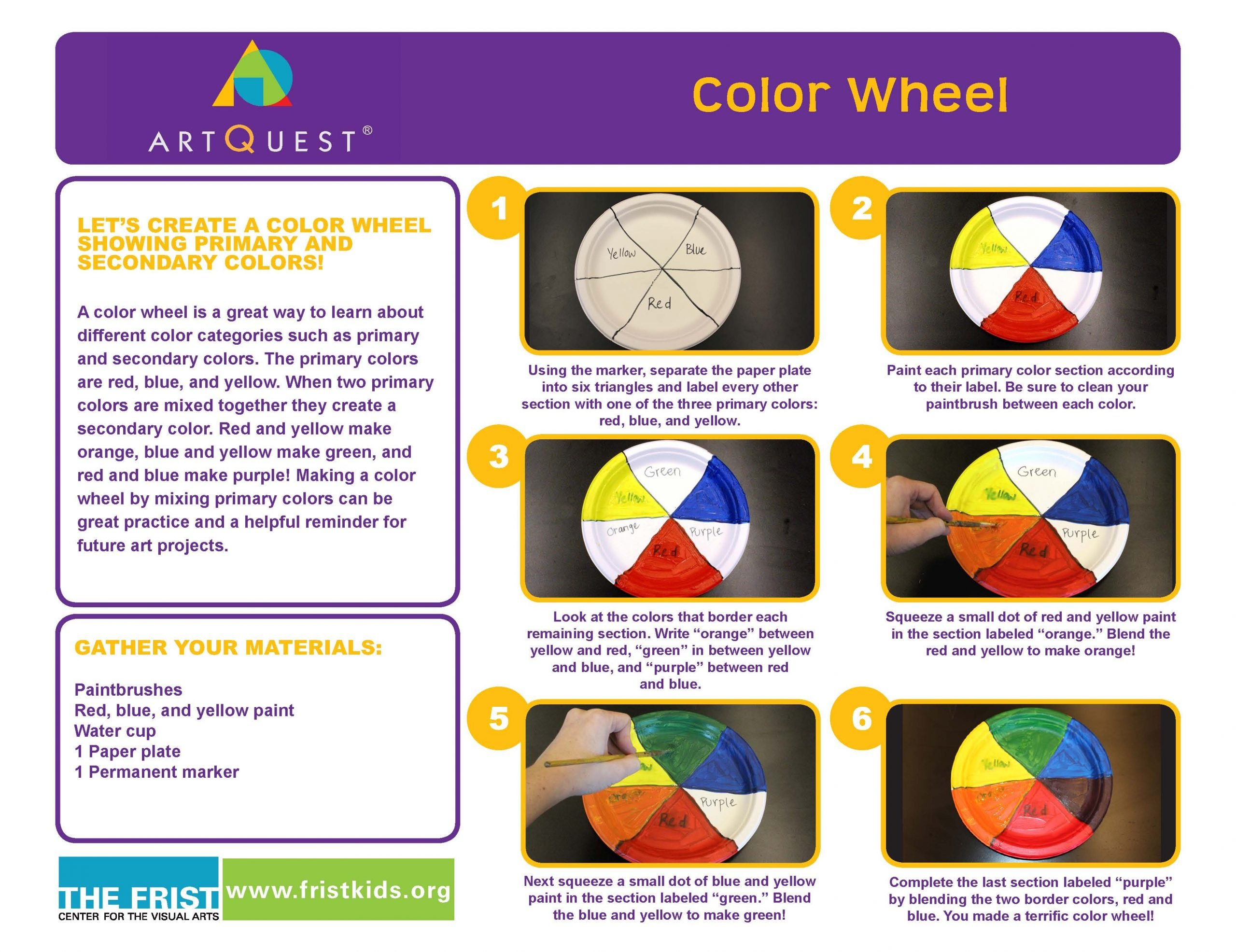 Color Theory Family Activity