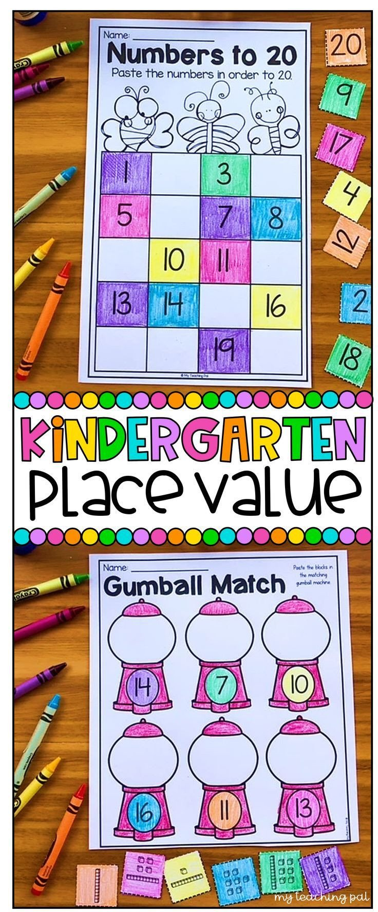 Counting by Tens Worksheet Kindergarten Kindergarten Place Value Worksheets