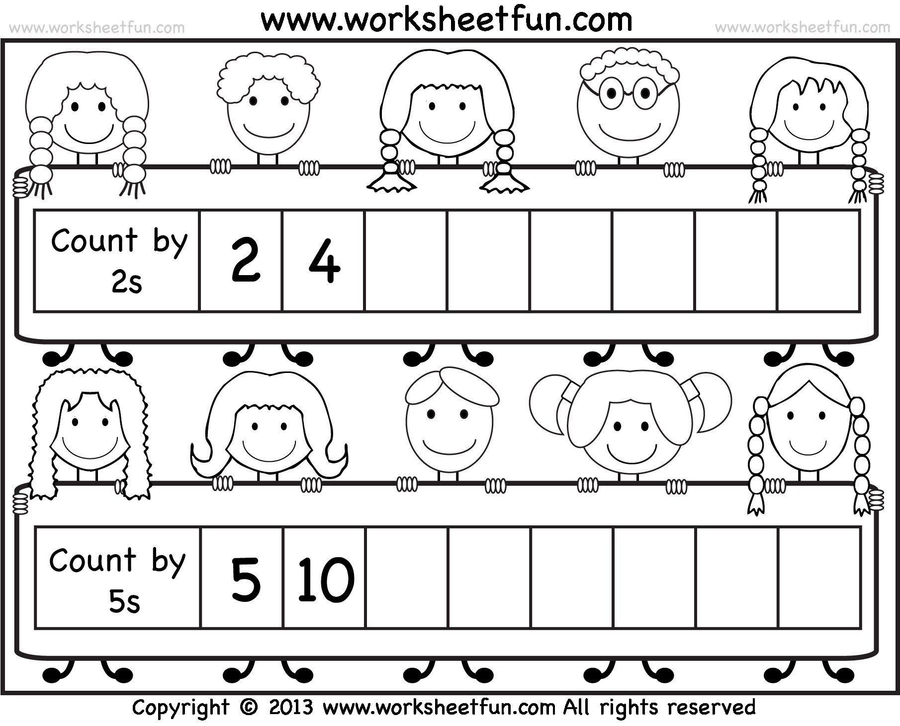 kindergarten counting activities free printablesheets preschool reading to