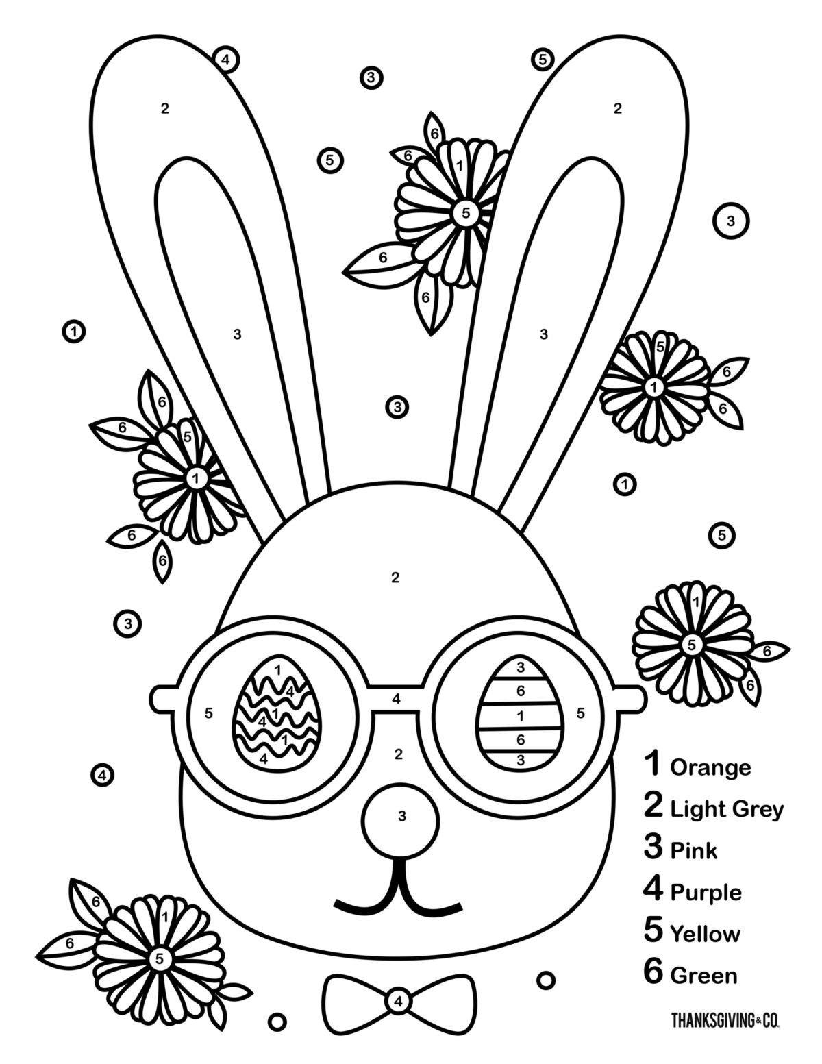 Free Easter Worksheets for Kindergarten 3 Color by Number Easter Printables to Keep Your Kids