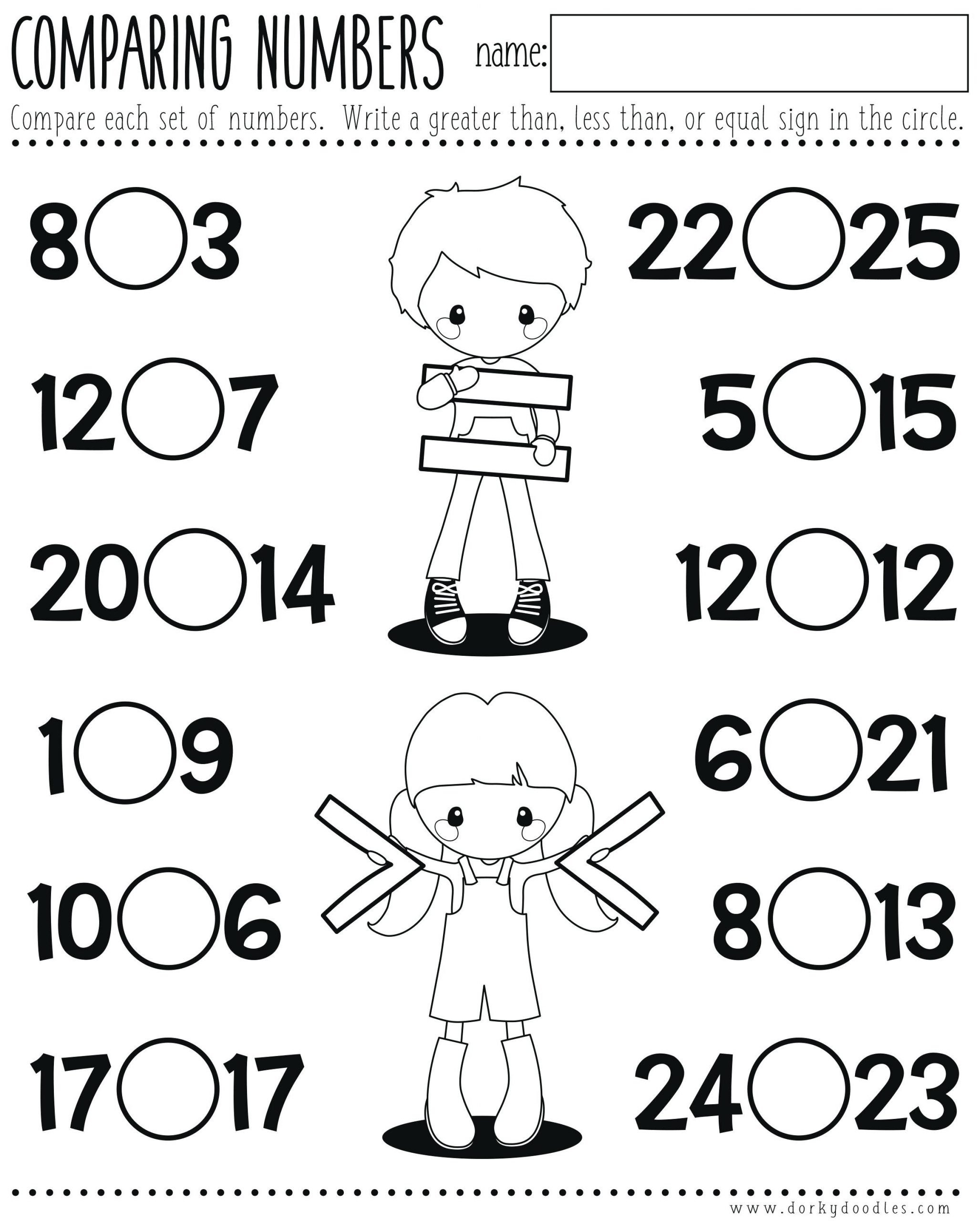 greater than less than first grade ideas collection kindergarten math worksheets printable e more 4bwess equal less about first grade math games