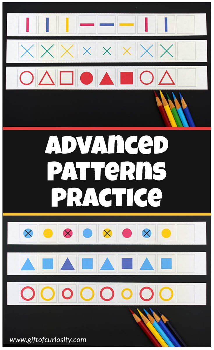 Kindergarten Ab Pattern Worksheets Advanced Patterns Worksheets for Kids Fun Practice with