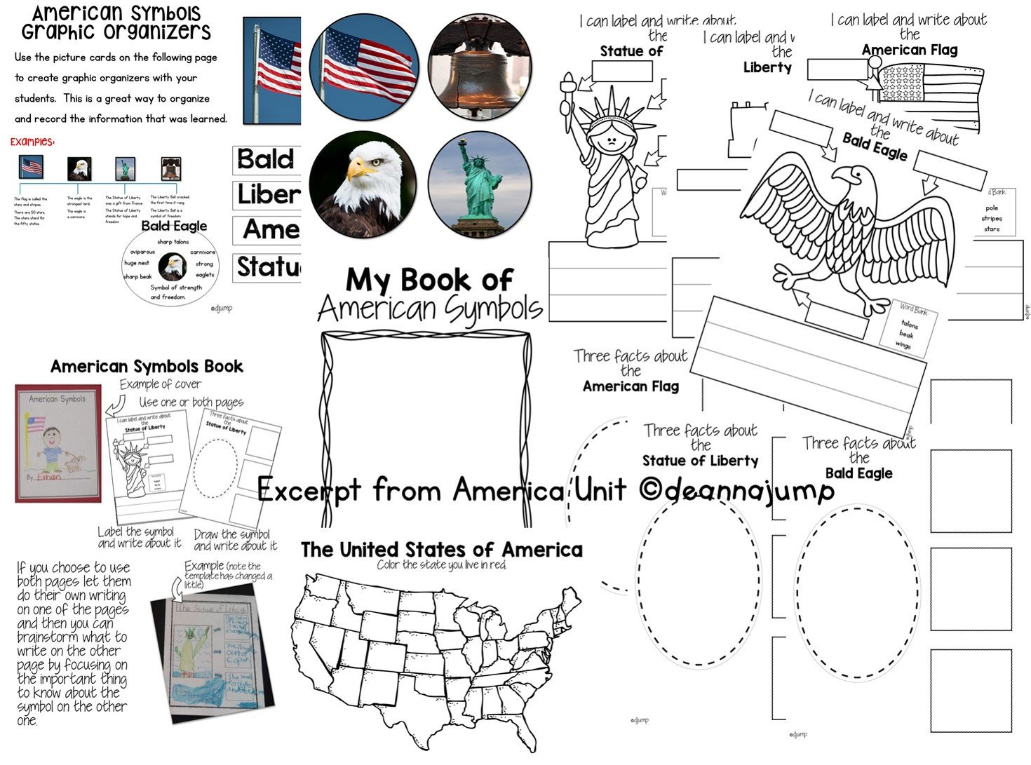 Kindergarten American Symbols Worksheet the Bald Eagle Worksheet