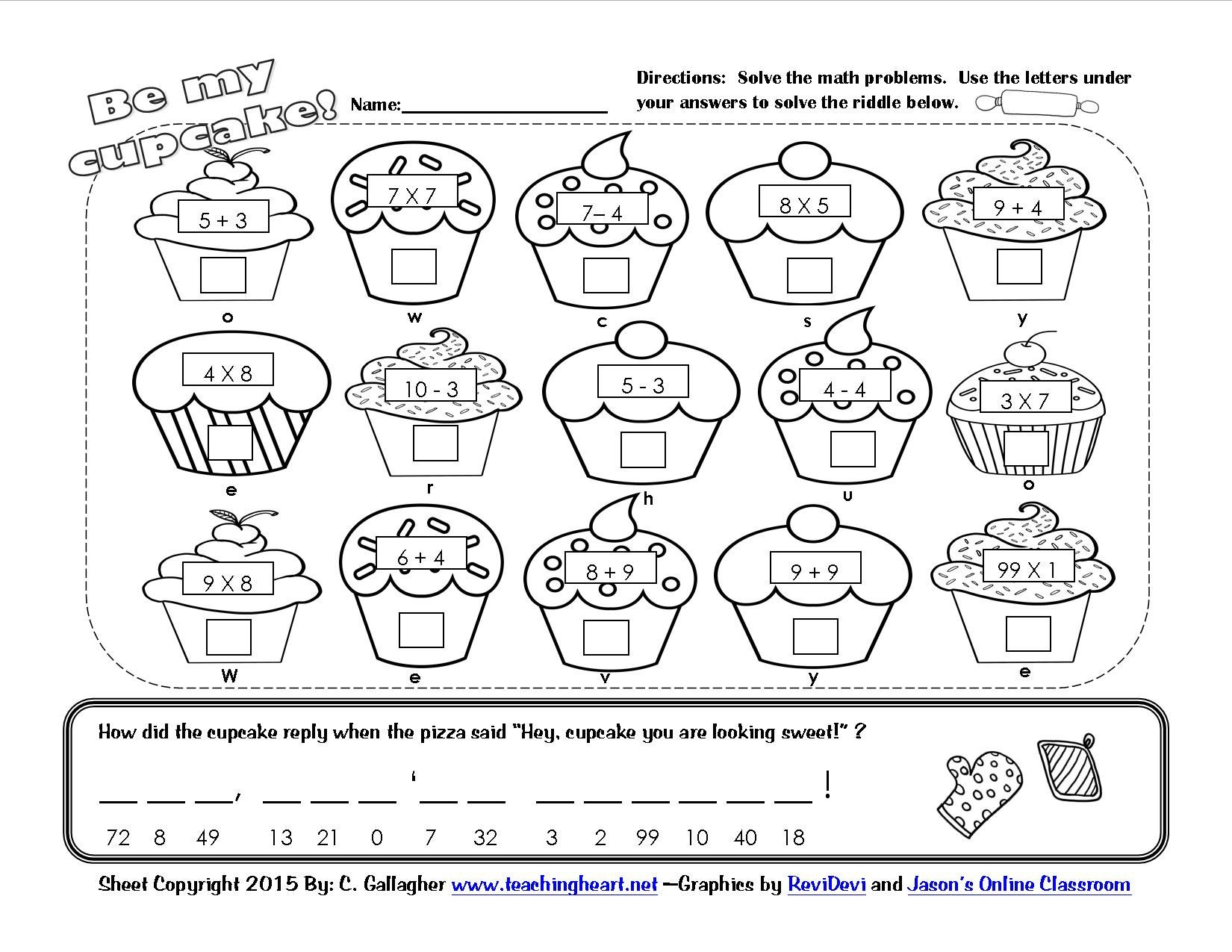 Kindergarten Valentine Math Worksheets Valentine Lessons and Activities Math Worksheets First Grade