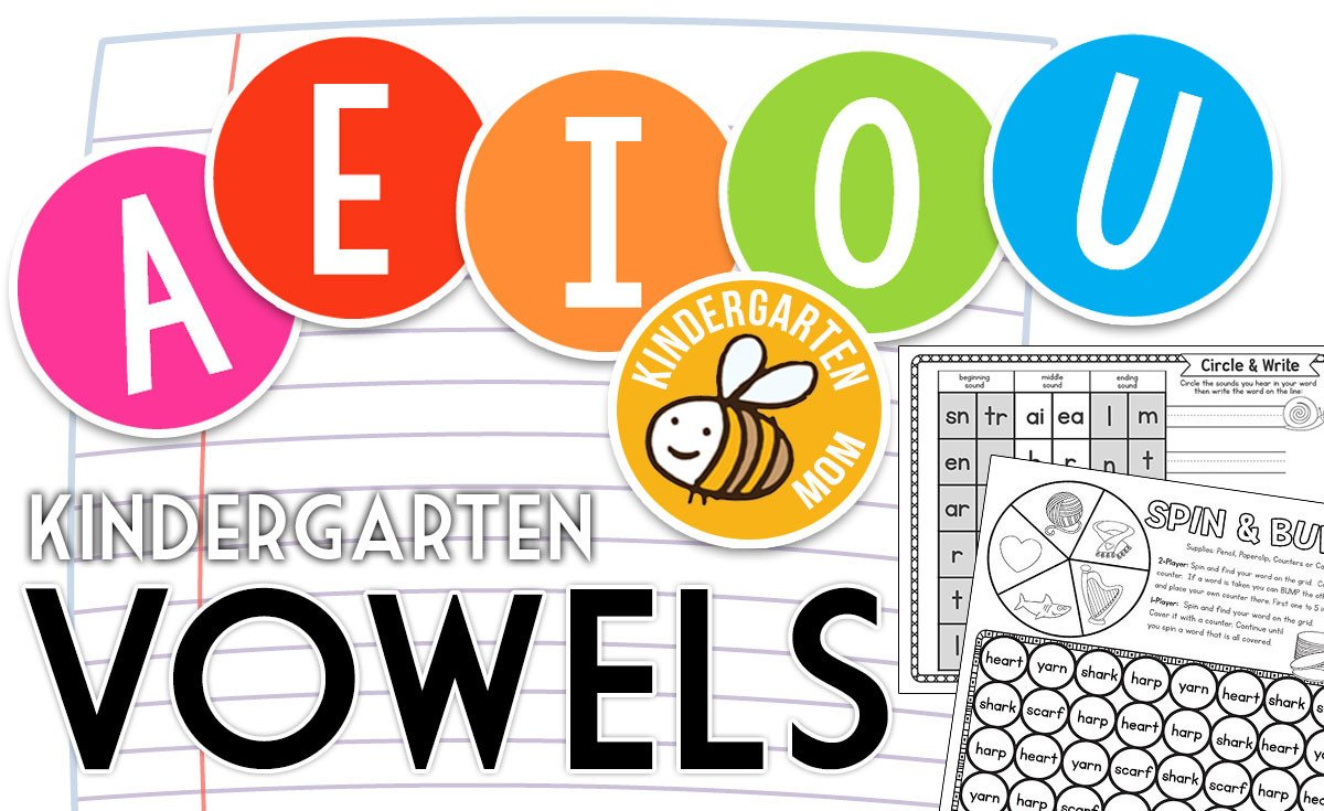 Long Vowels Worksheets Kindergarten Free Vowel Charts Worksheets & Printables