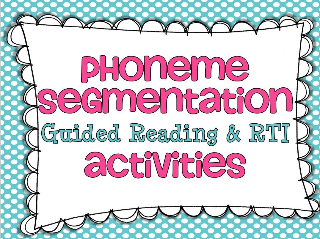 Phonemic Awareness Worksheets for Kindergarten Phoneme Segmentation and A Freebie Little Minds at Work