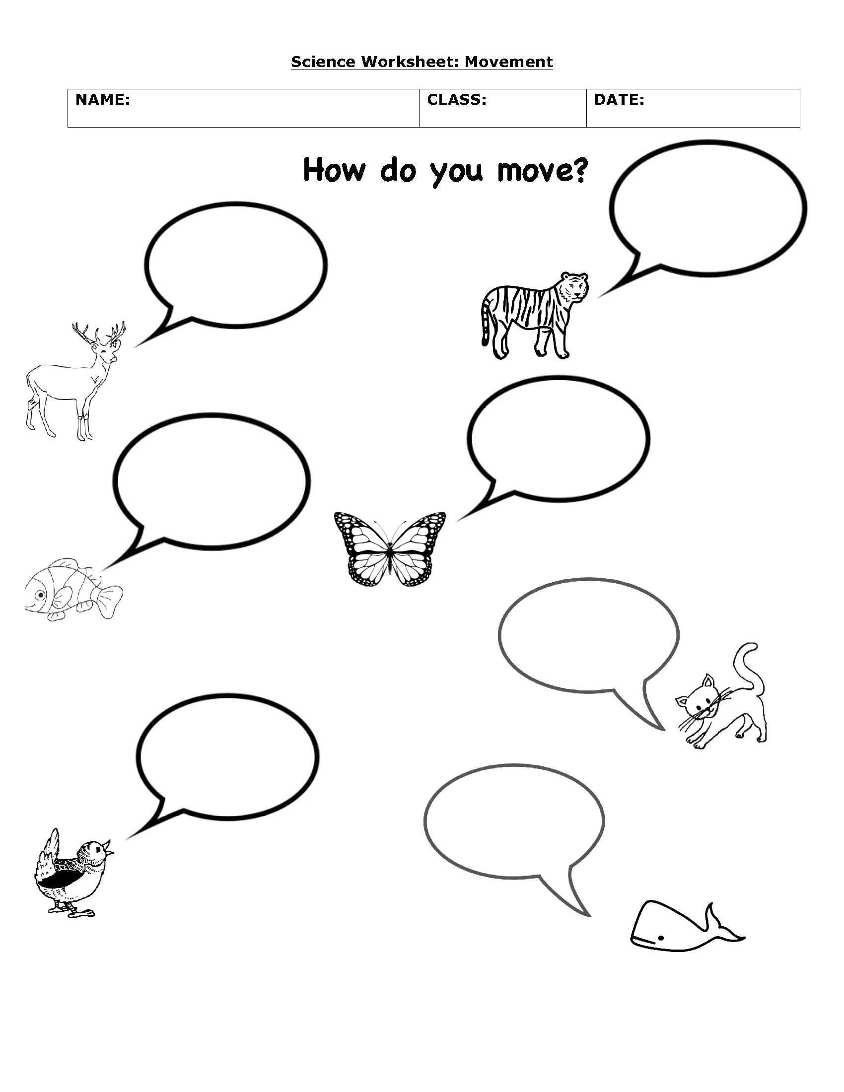 Plant and Animal Adaptations Worksheet Animal Prehension Worksheet Printable Worksheets and
