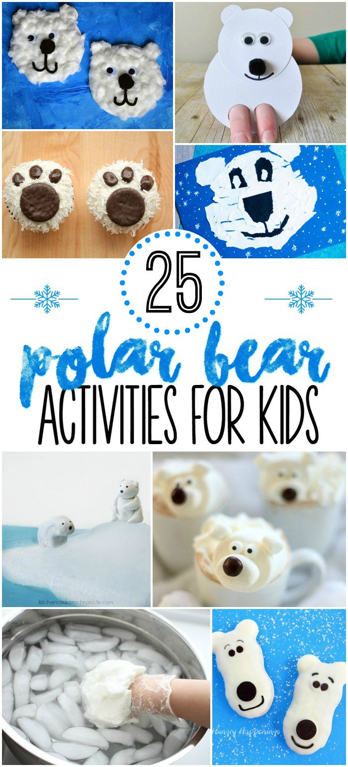 Polar Bear Worksheets Kindergarten 25 Polar Bear Preschool Activities Pre K Pages