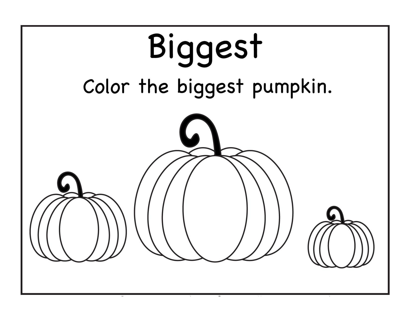 Pumpkin Worksheets for Kindergarten Art Archives Page 2 Of 10