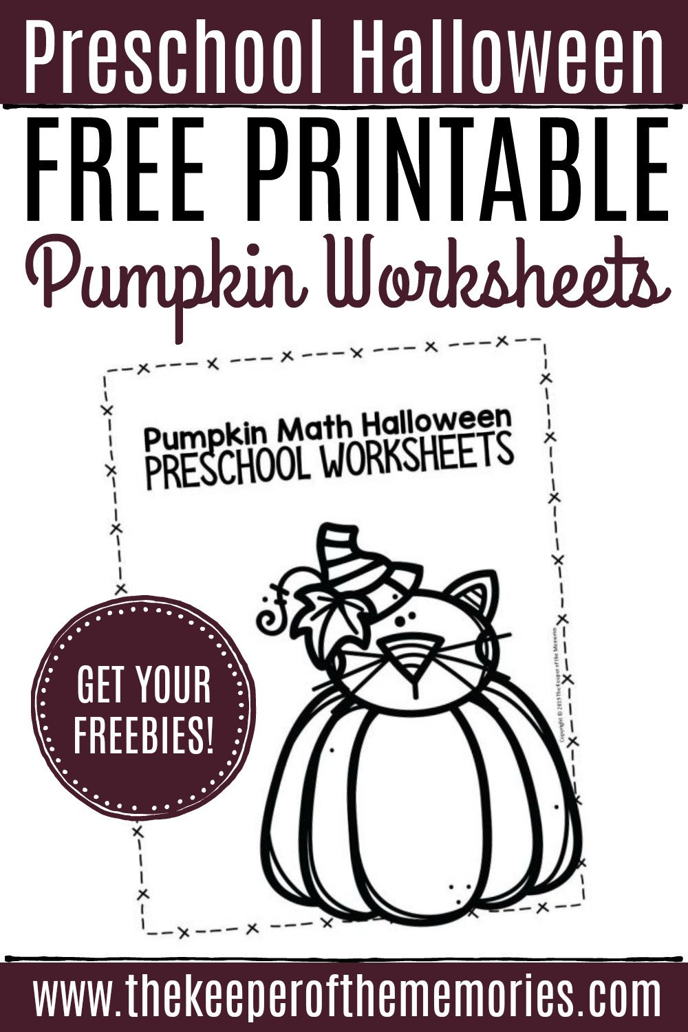 Pumpkin Worksheets for Kindergarten Free Printable Pumpkin Worksheets for Preschoolers