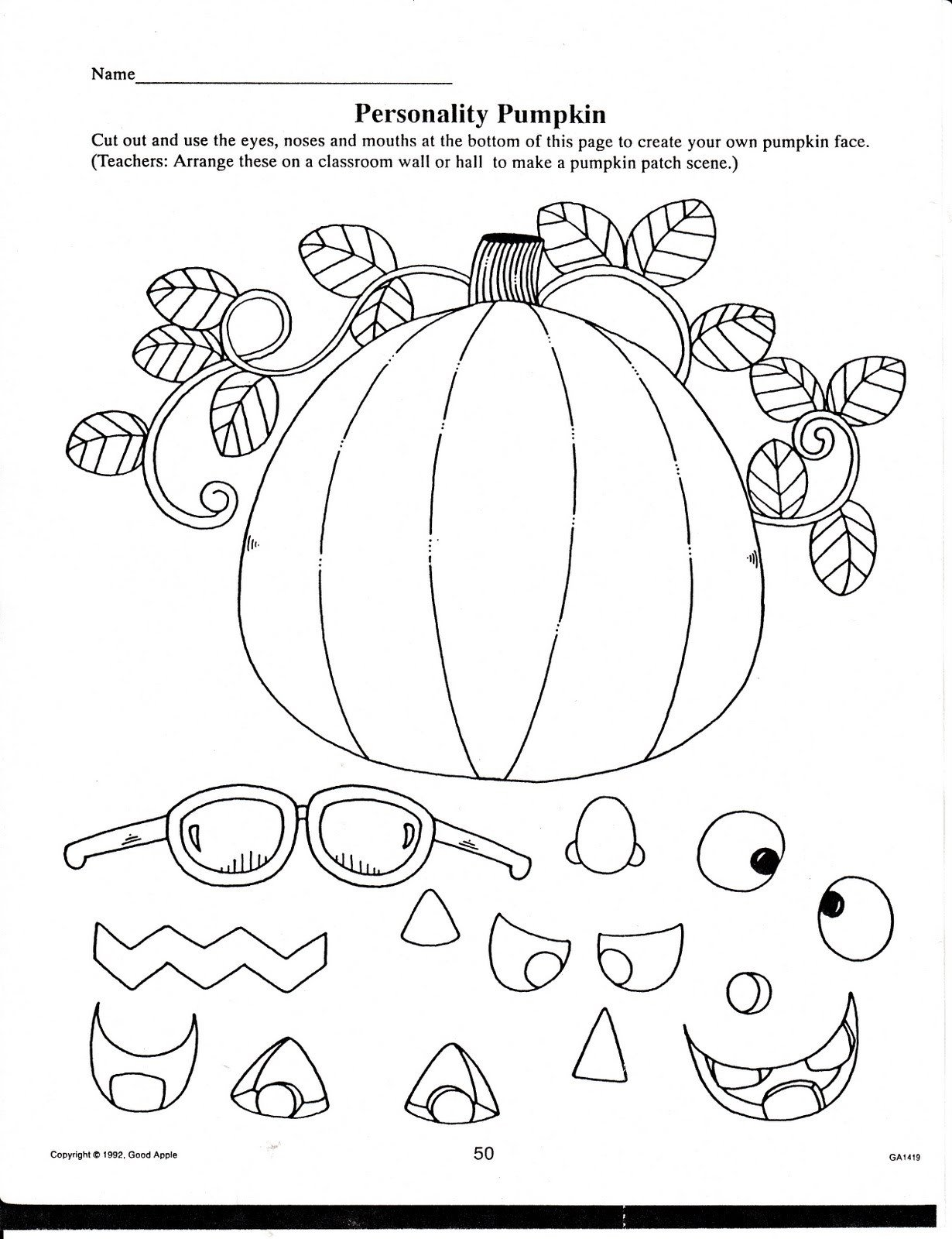 Pumpkin Worksheets for Kindergarten Math Worksheet I Can Worksheets for Kindergarten Halloween