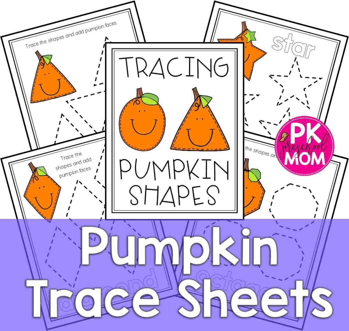 Pumpkin Worksheets for Kindergarten Pumpkin Preschool Printables Preschool Mom