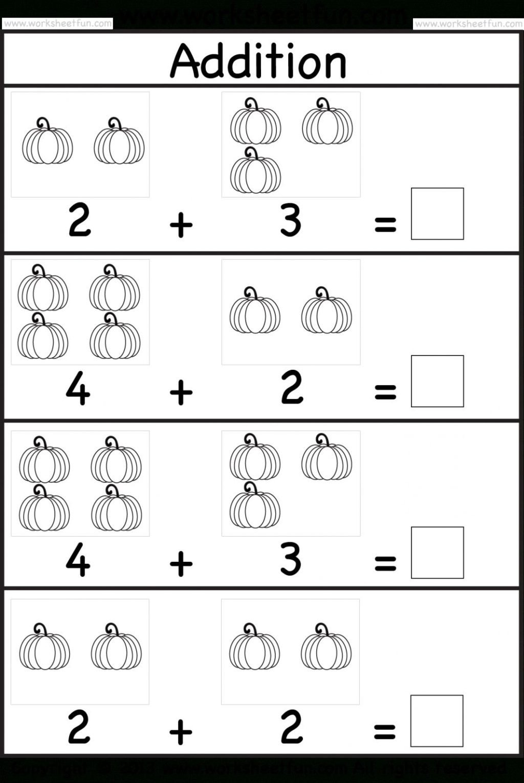 Simple Addition Worksheets Kindergarten Worksheet Simple Kindergarten Math Worksheets for You