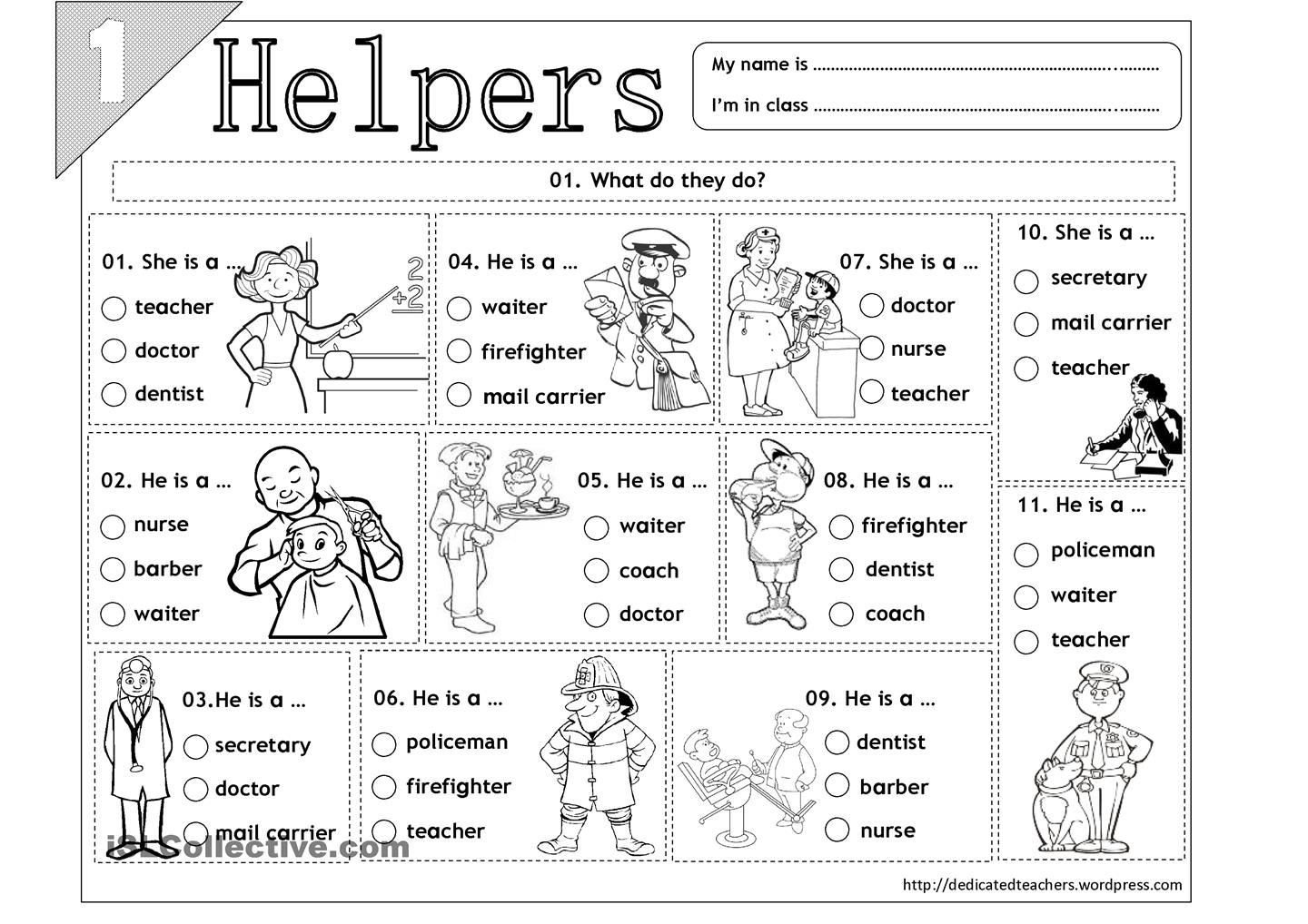 Social Studies for Kindergarten Worksheets Helpers 01