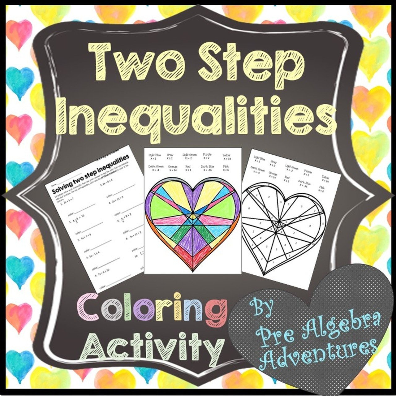 Covers 2 step inequality