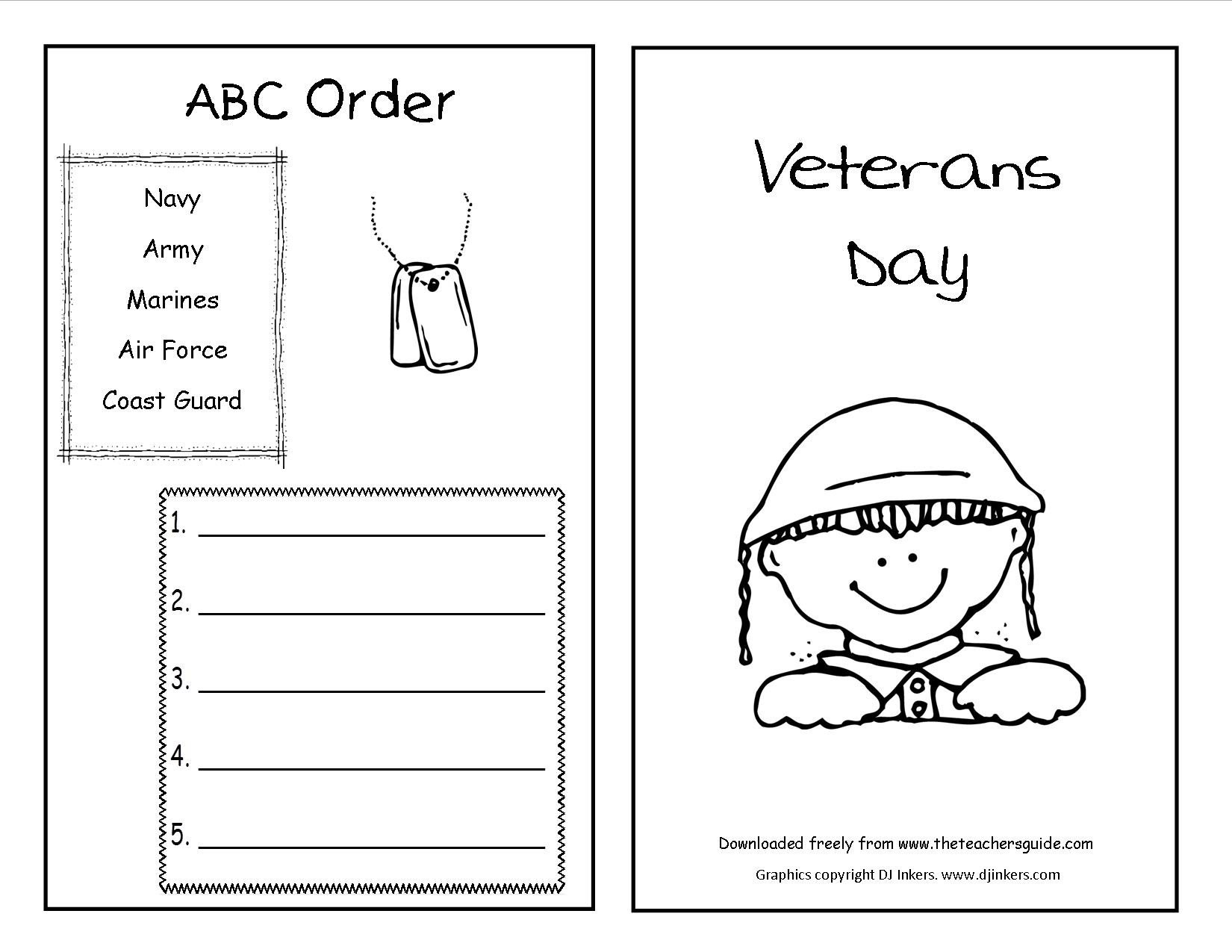 Veterans Day Worksheets for Kindergarten Coloring Book Veterans Dayoloring Sheets Picture