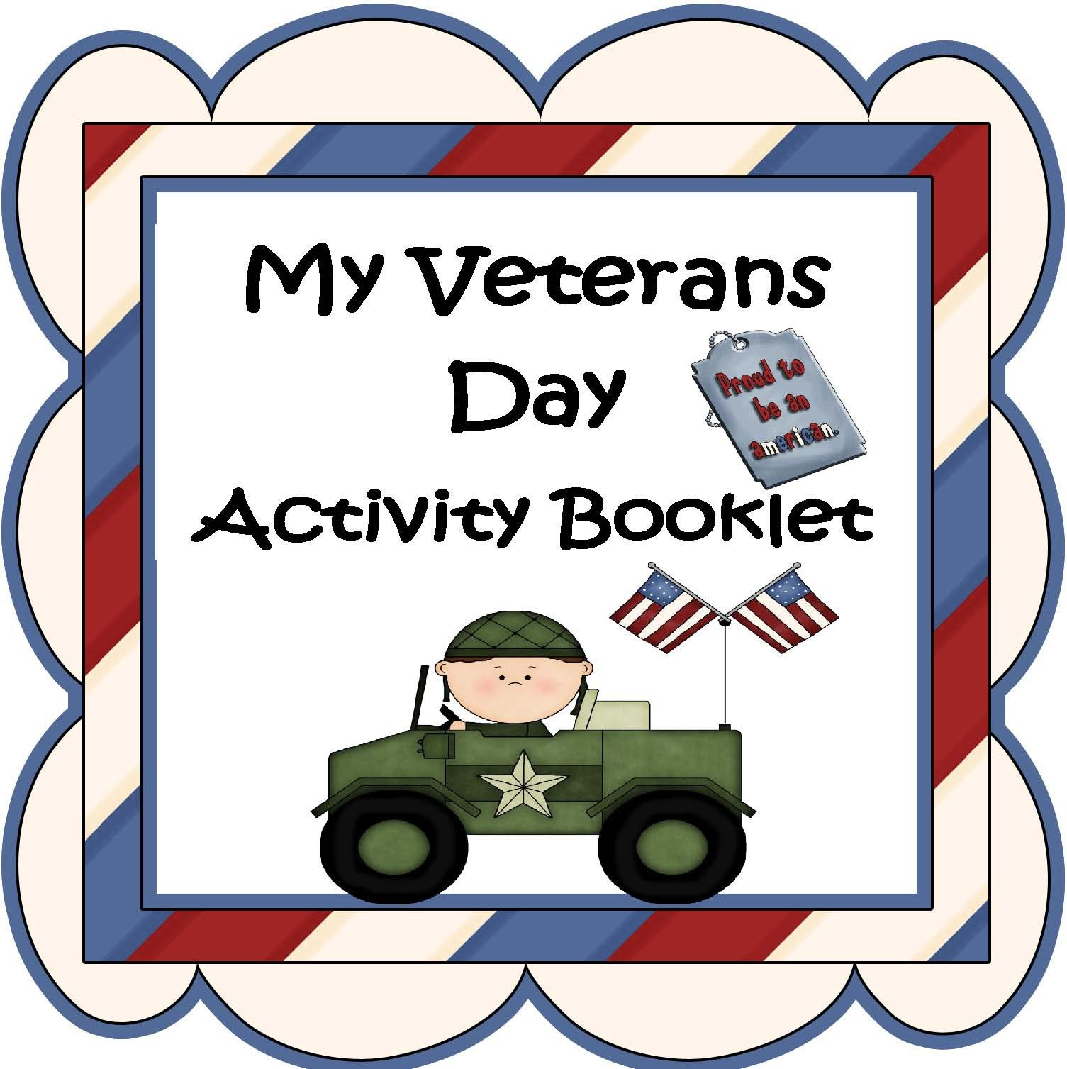 Veterans Day Worksheets for Kindergarten Engaging Lessons and Activities Veteran S Day Activity Booklet