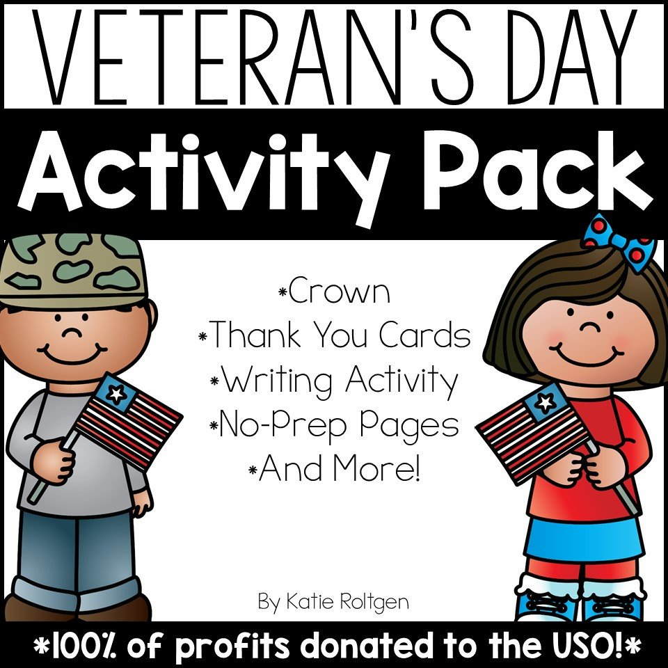 Veterans Day Worksheets for Kindergarten Veteran S Day Activities Freebie Included