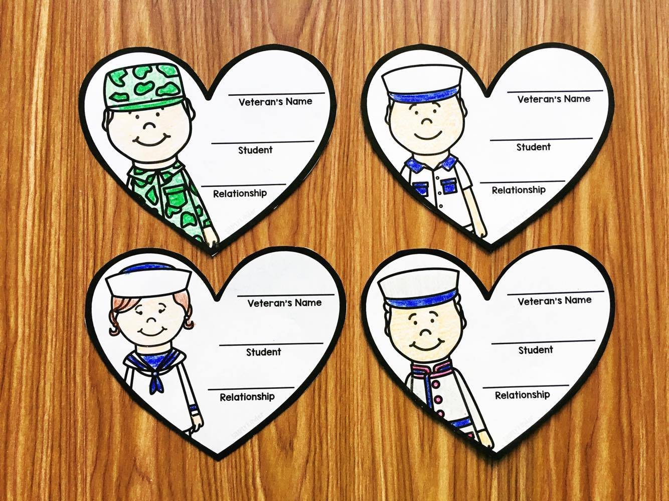 Veterans Day Worksheets for Kindergarten Veterans Day In Kindergarten Simply Kinder