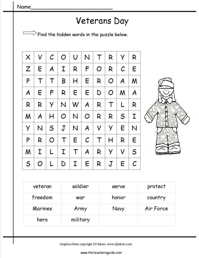Veterans Day Worksheets for Kindergarten Veterans Day Worksheets to Learning Veterans Day Worksheets