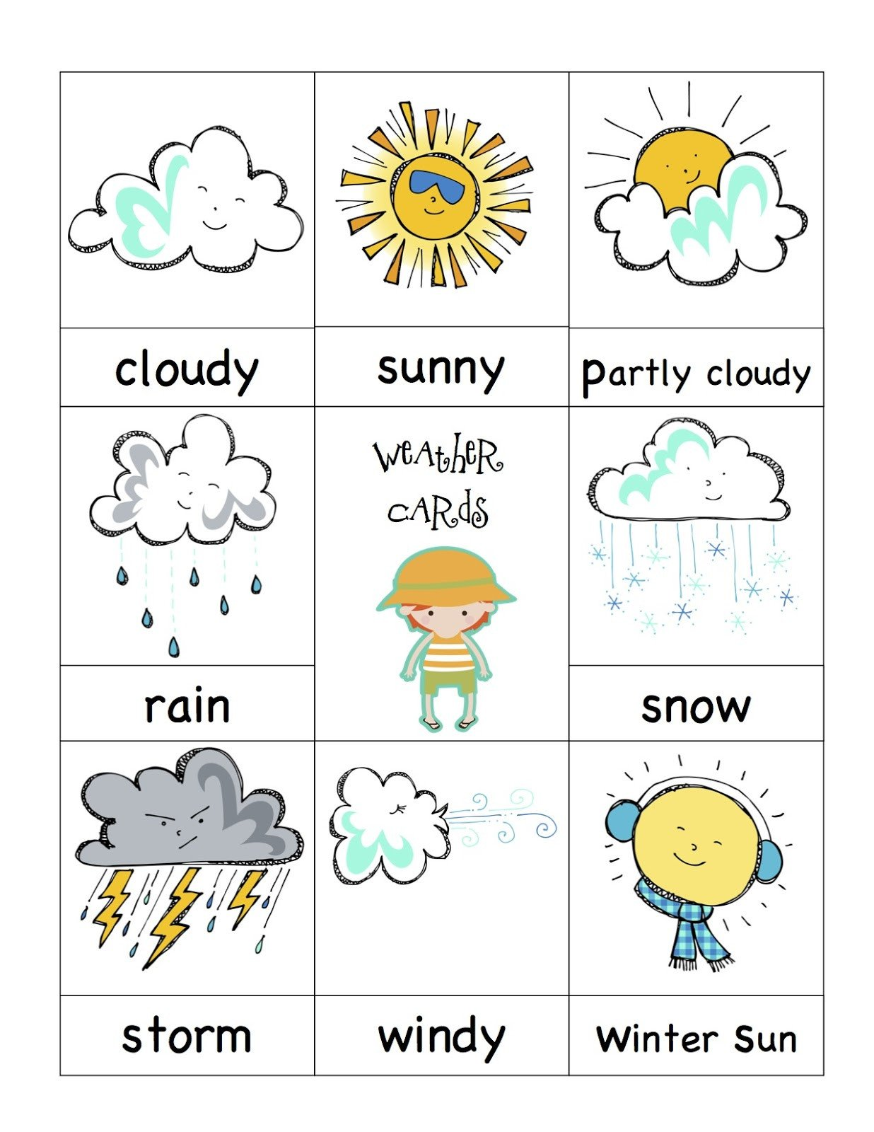 Weather Worksheet for Kindergarten Weather Worksheet New 108 Printable Weather Books for